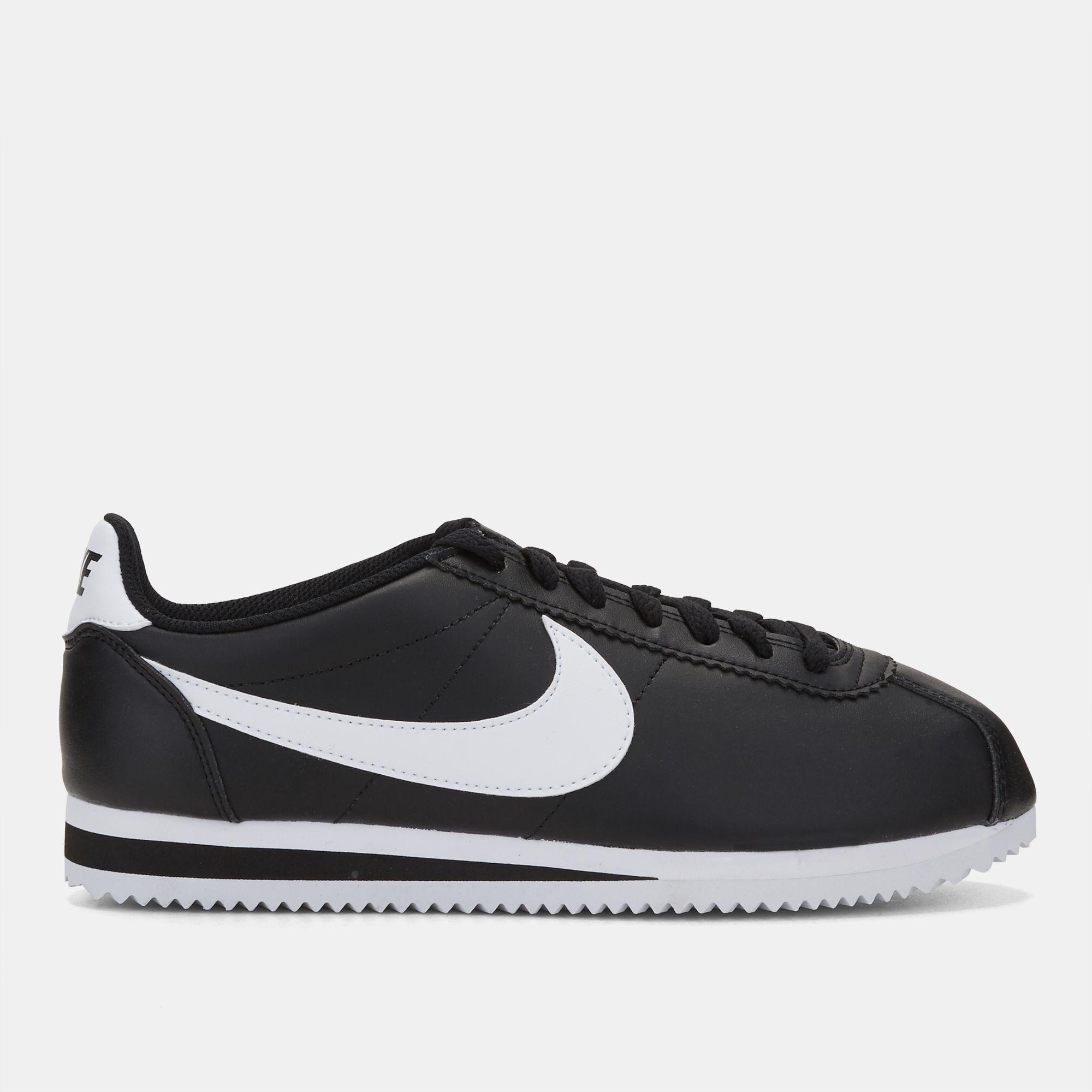 nike classico cortez di calzature in cuoio