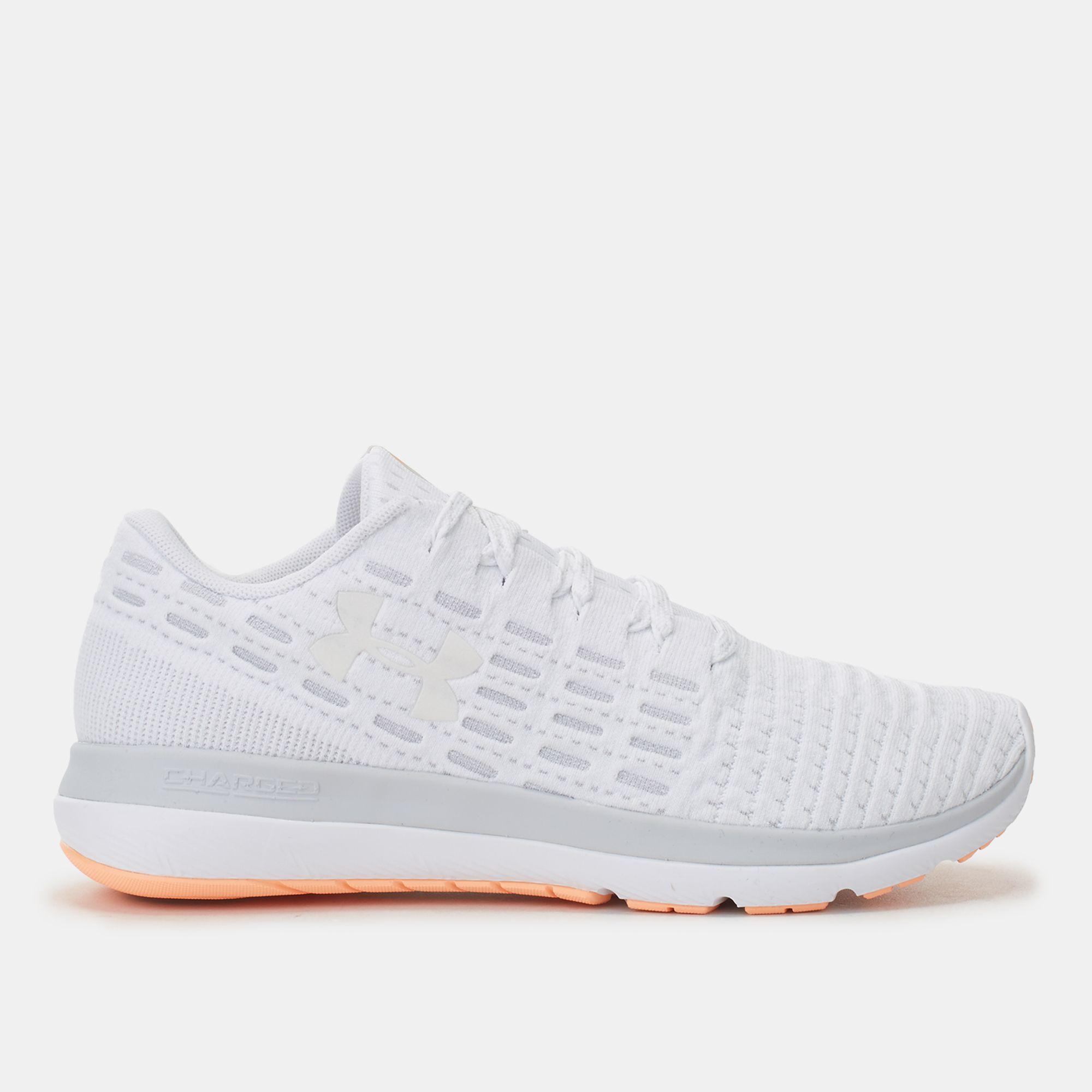 700ed639e Shop White Under Armour Threadborne Slingflex Shoe for Womens by ...
