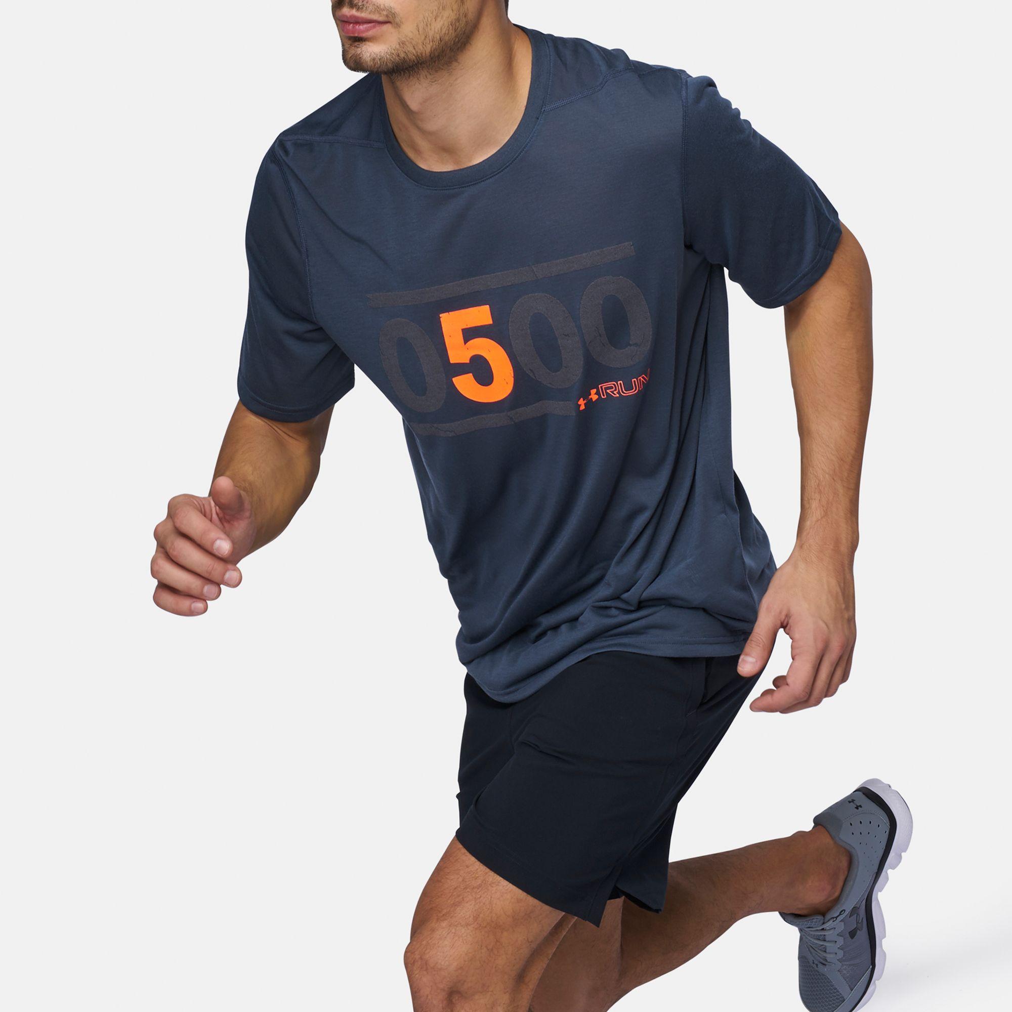 Under Armor Mens 5am Run T-Shirt