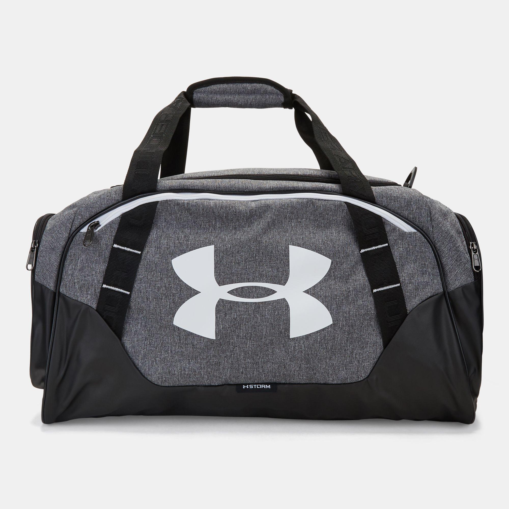 Shop Grey Under Armour Undeniable 3 Medium Duffle Bag for Unisex by ... 9b95f8c7ba85e