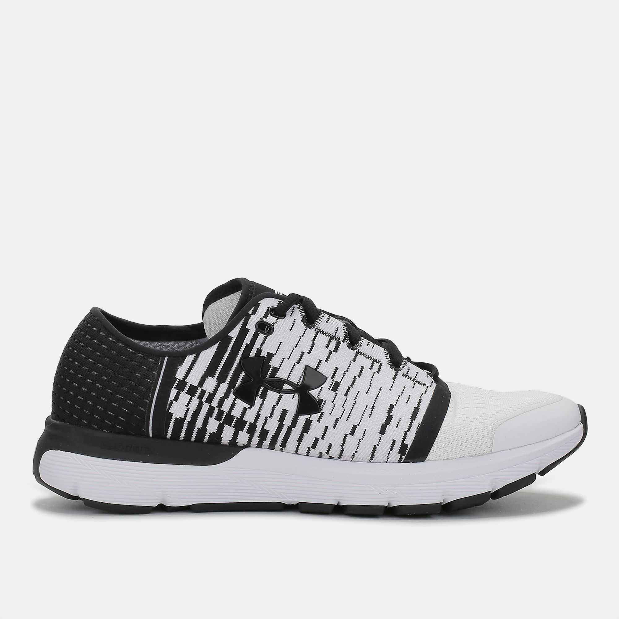 check out 583a8 5082b Shop White Under Armour Speedform Gemini 3 Graphic Running ...