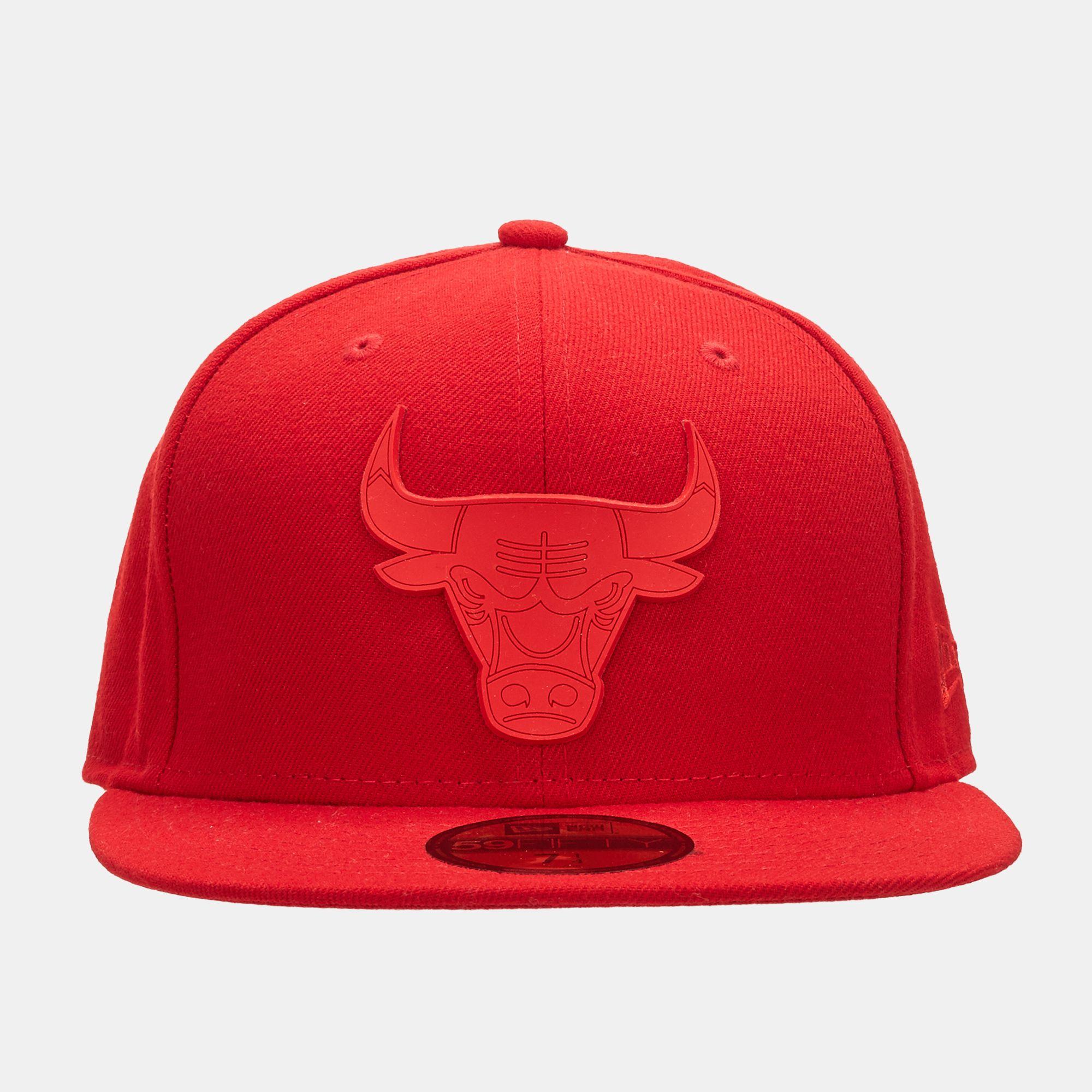 ddfd0d143dee6 ... cheap new era nba rubber logo chicago bulls cap 83560 3bb5c