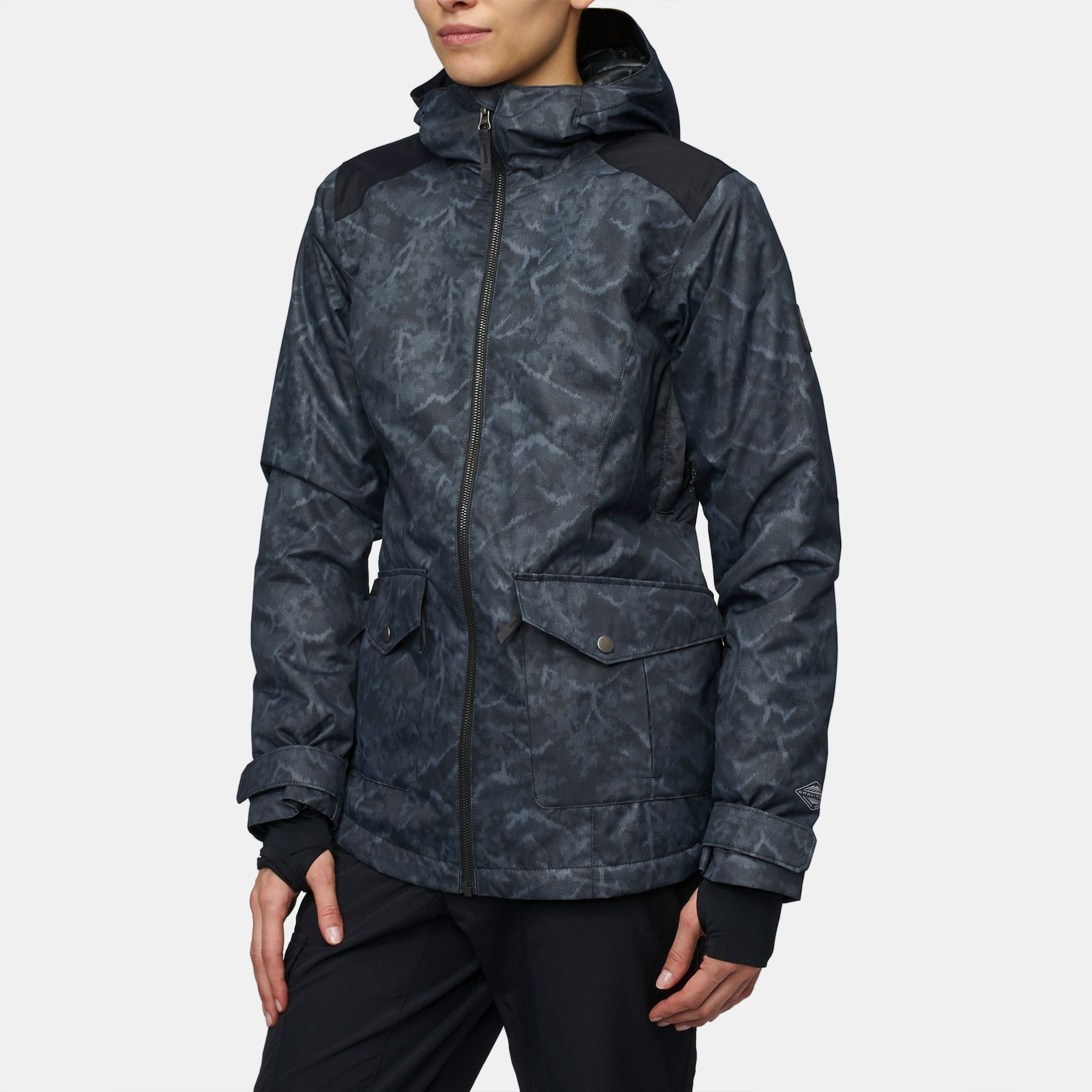 Shop Black Columbia Catacomb Crest Insulated Parka Jacket for Womens ... 6c42f86aa