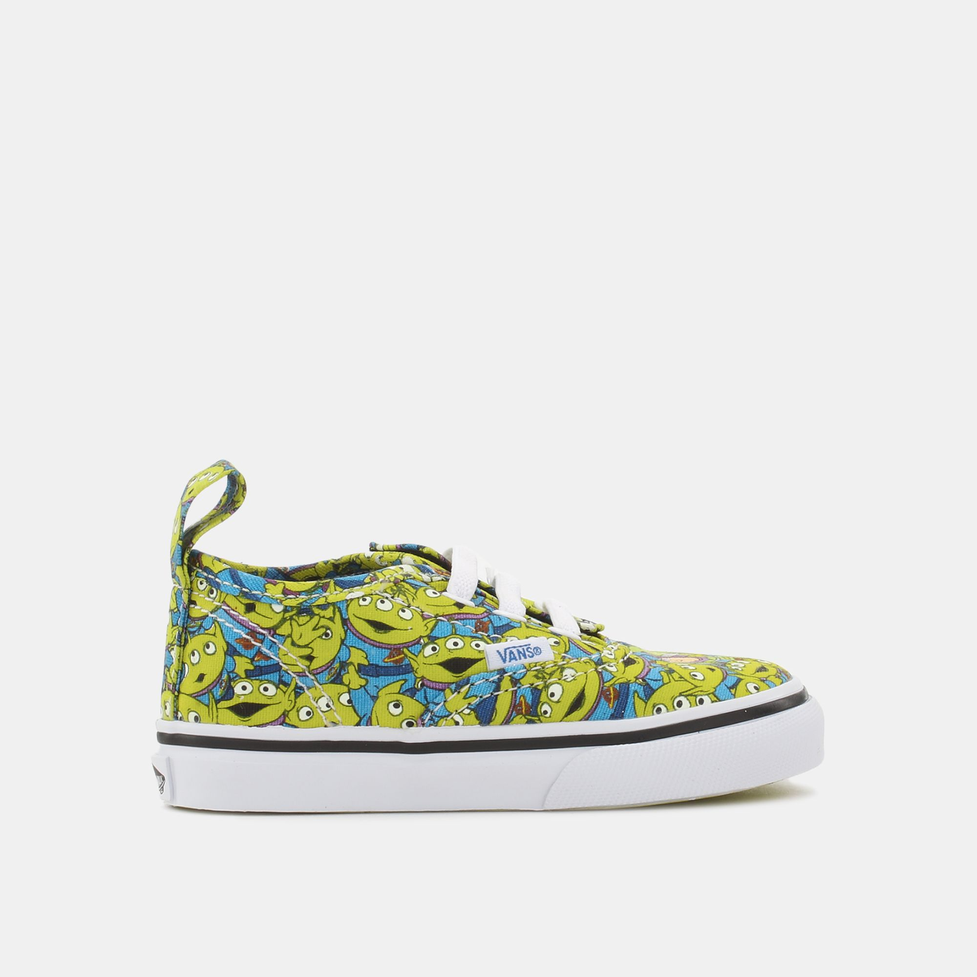 c26066eb3e Shop Yellow Vans Authentic V Lace Shoe - Toy Story Edition for Kids by Vans