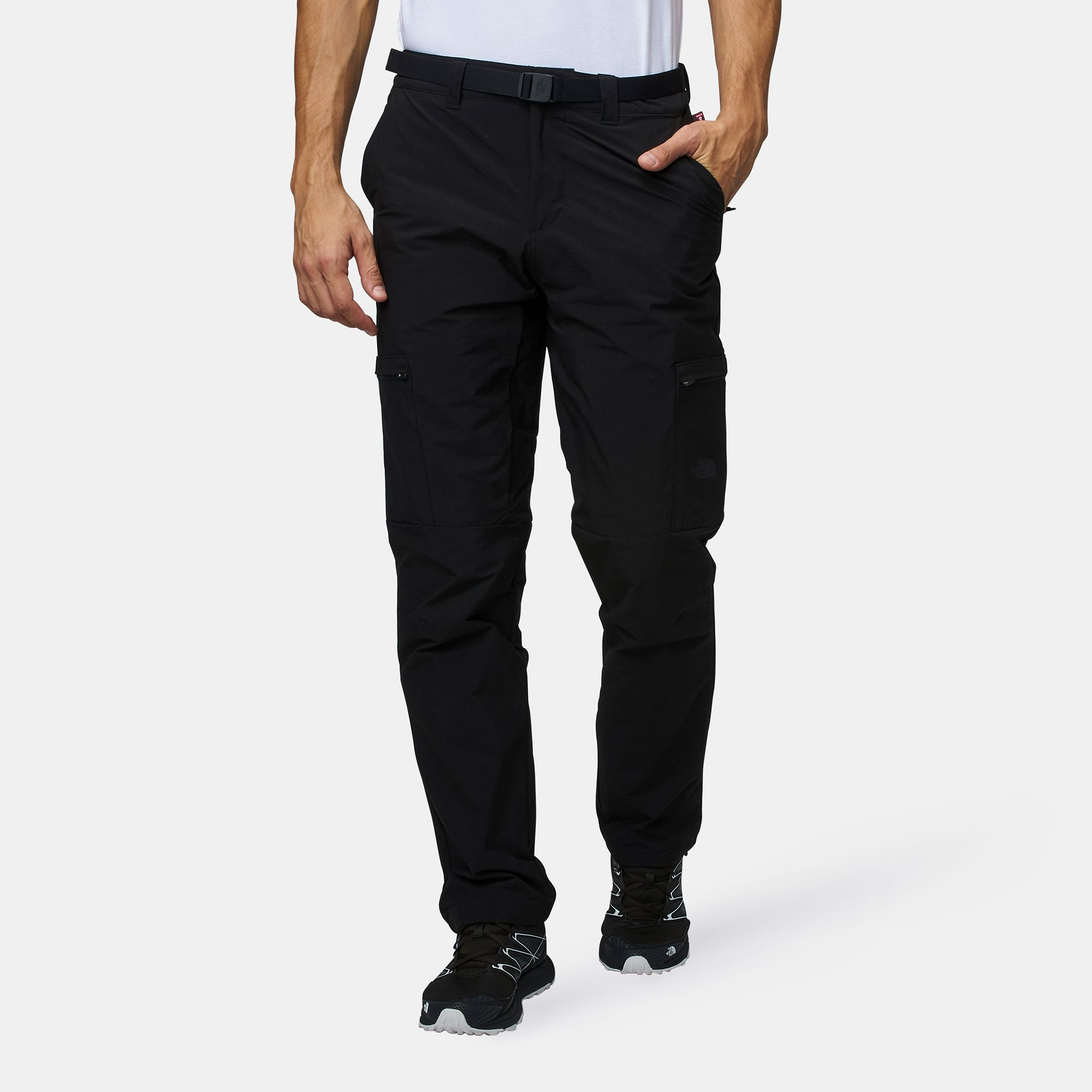 Shop Black The North Face Winter Exploration Cargo Pants for Mens by ... 8c1b7b85f73c