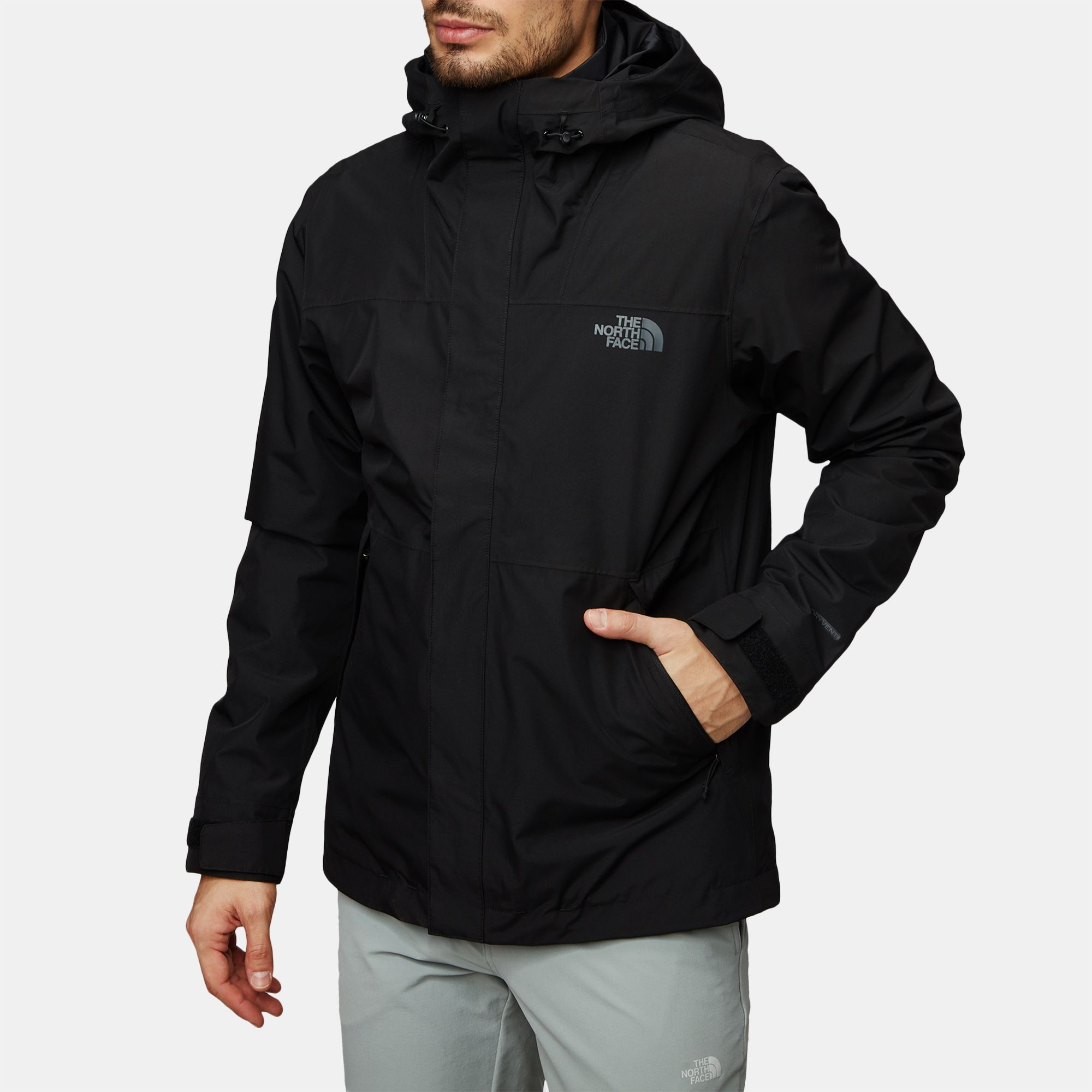 51f9f7eeaa Shop Black The North Face Naslund Triclimate Jacket for Mens by The ...