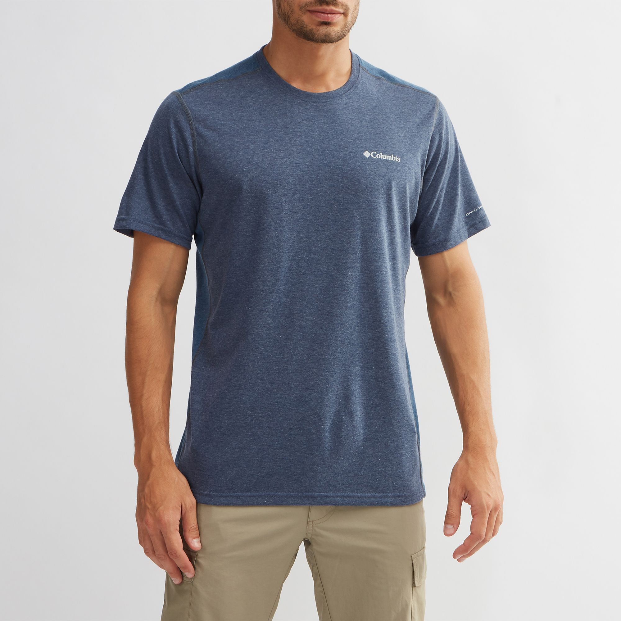 874ac4aab96 Shop Blue Columbia Silver Ridge™ Short Sleeve T-Shirt for Mens by Columbia  | SSS