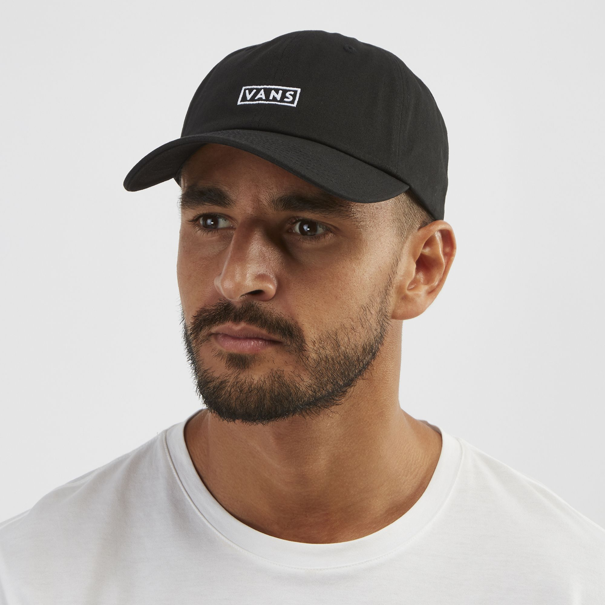 Vans Curved Bill Jockey Hat - Black 51147f1395