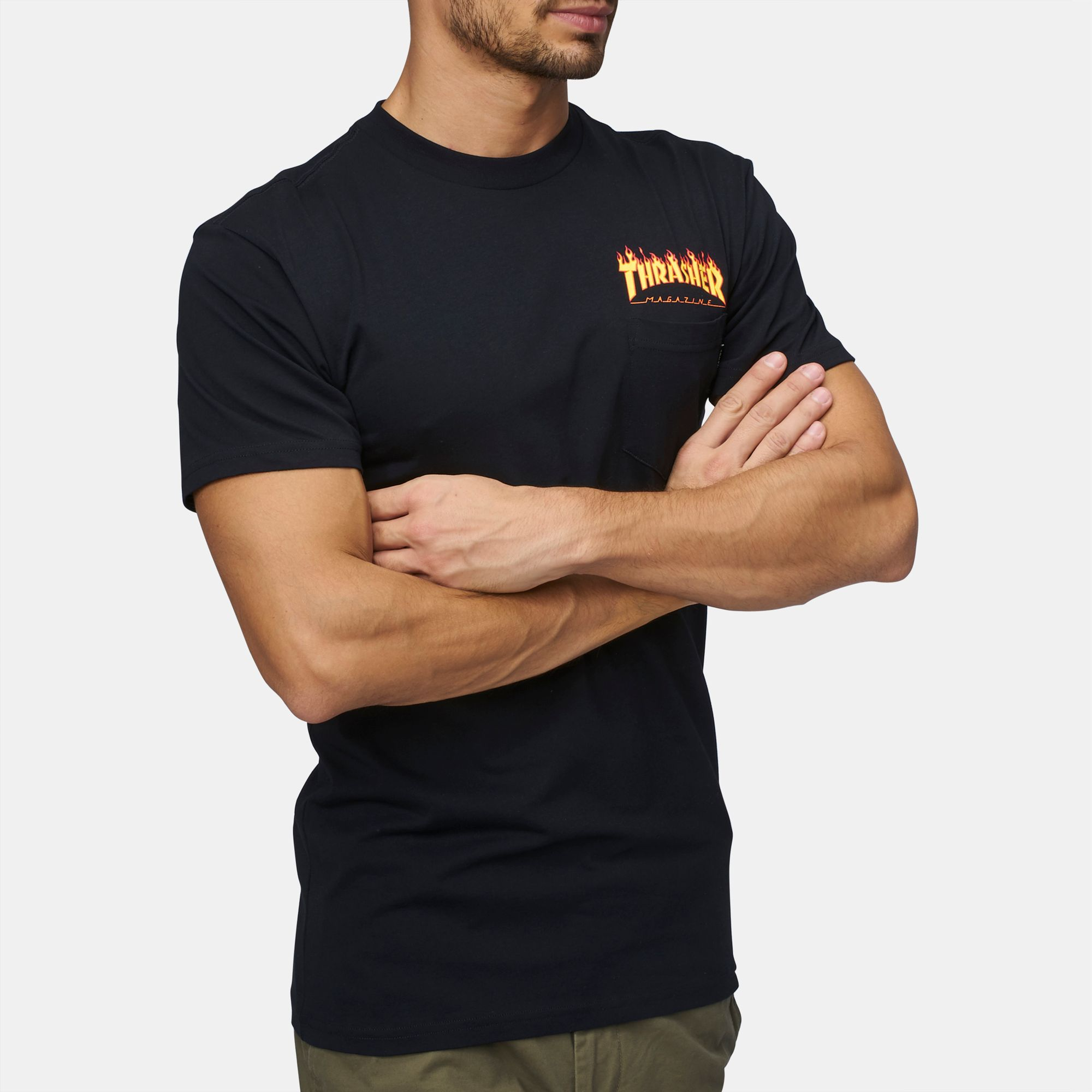 3f88f62ed7 Vans X Thrasher Pocket T-Shirt
