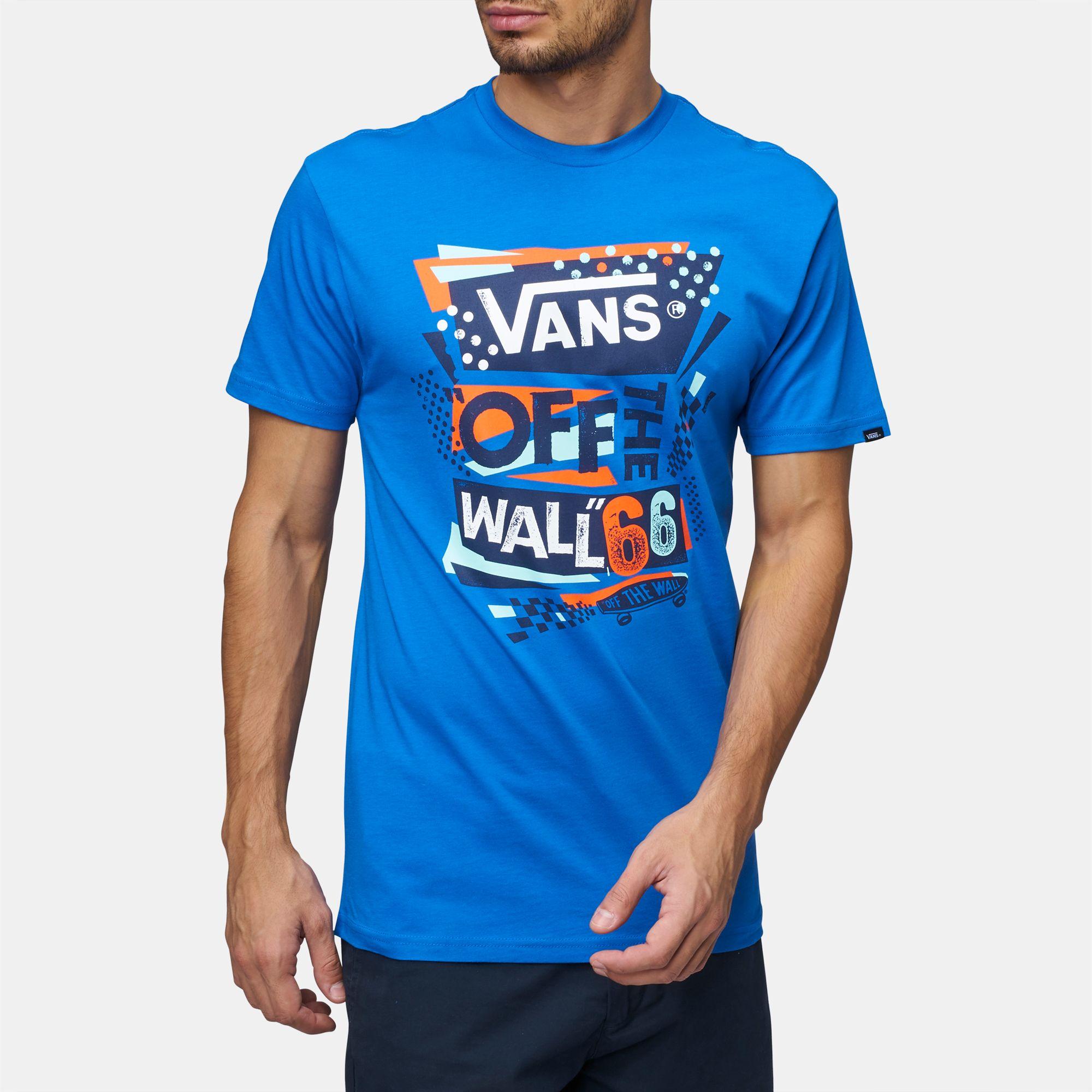 b272841b3b9fa9 Blue Shop 41 Vans Stenciled II T-Shirt for Mens by Vans