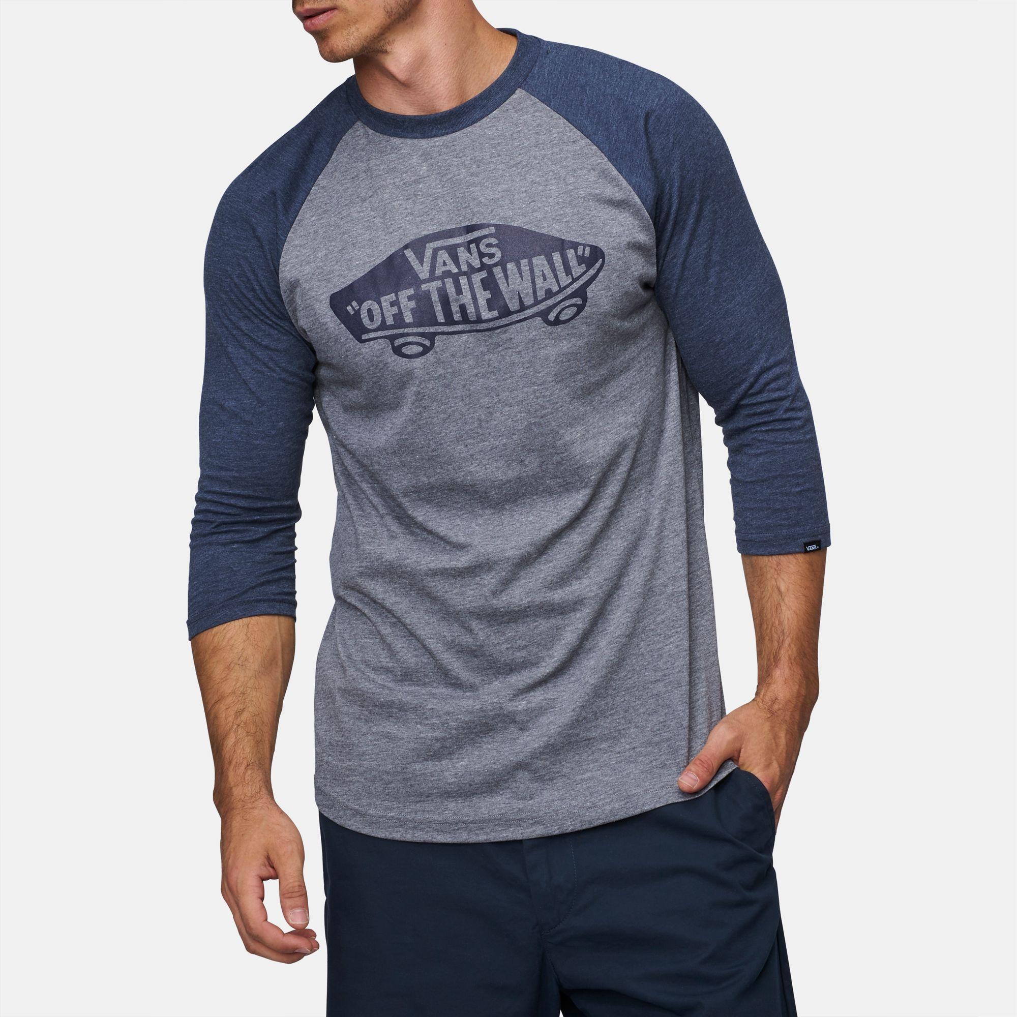 a1b552b259 Shop 41 Vans Off The Wall Raglan T-Shirt for Mens by Vans -45