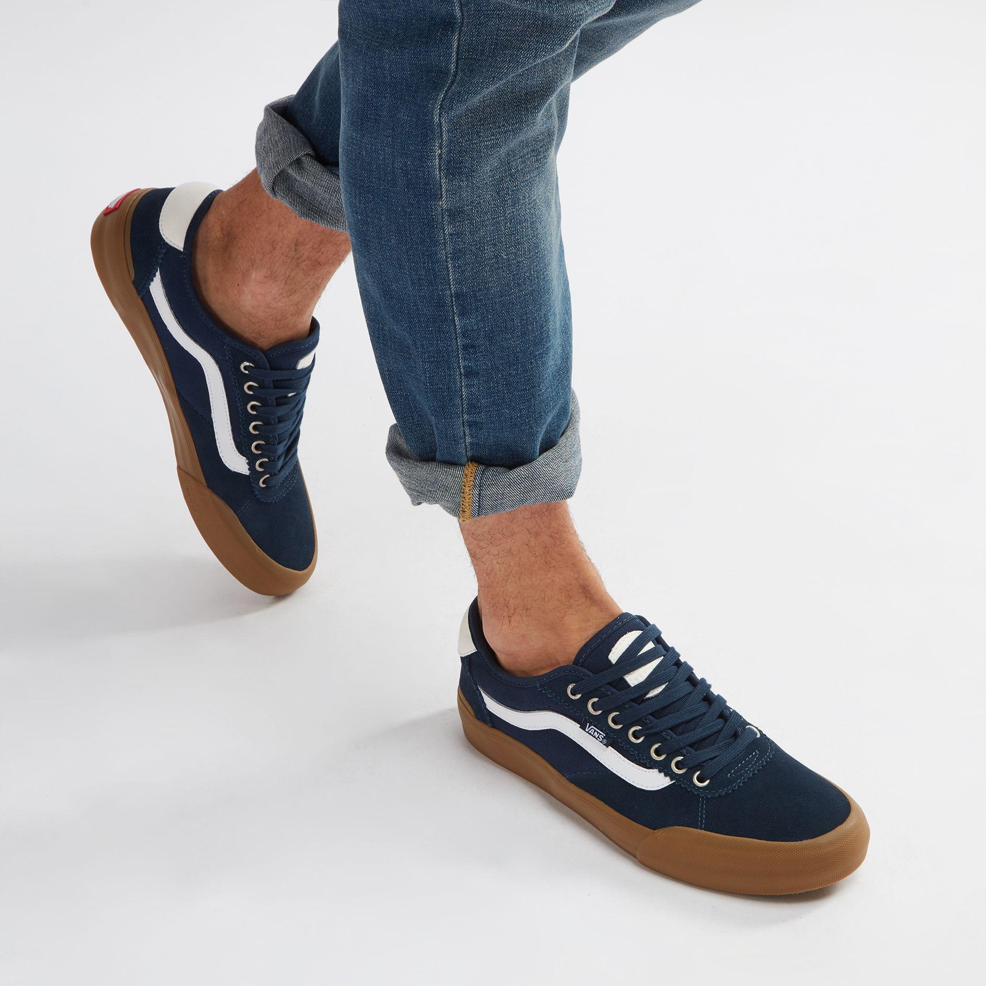 63bae7a0879064 Shop Blue Vans Chima Pro 2 Shoe for Mens by Vans