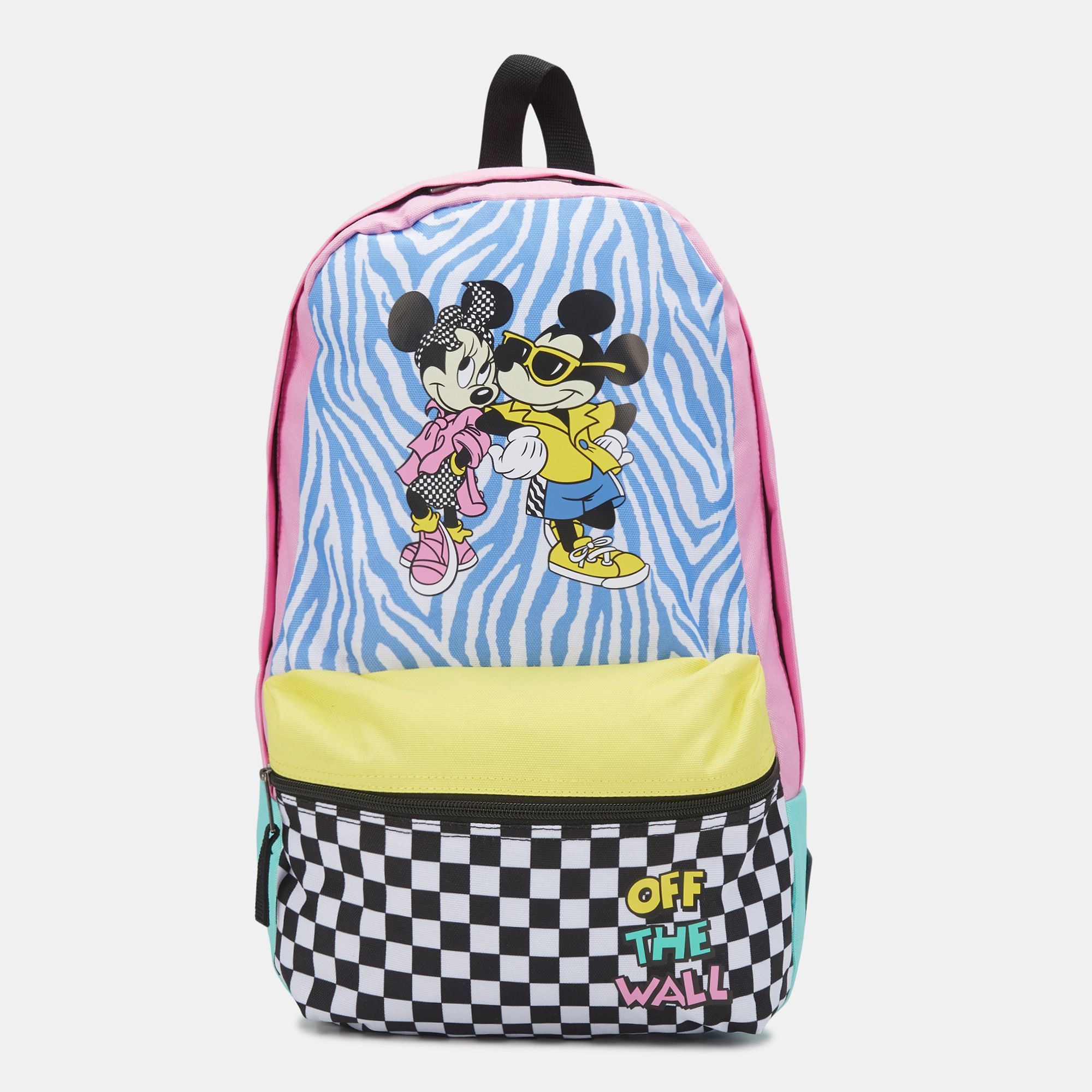 63feeac1388 Vans x Disney Mickey Mouse Calico Backpack - White