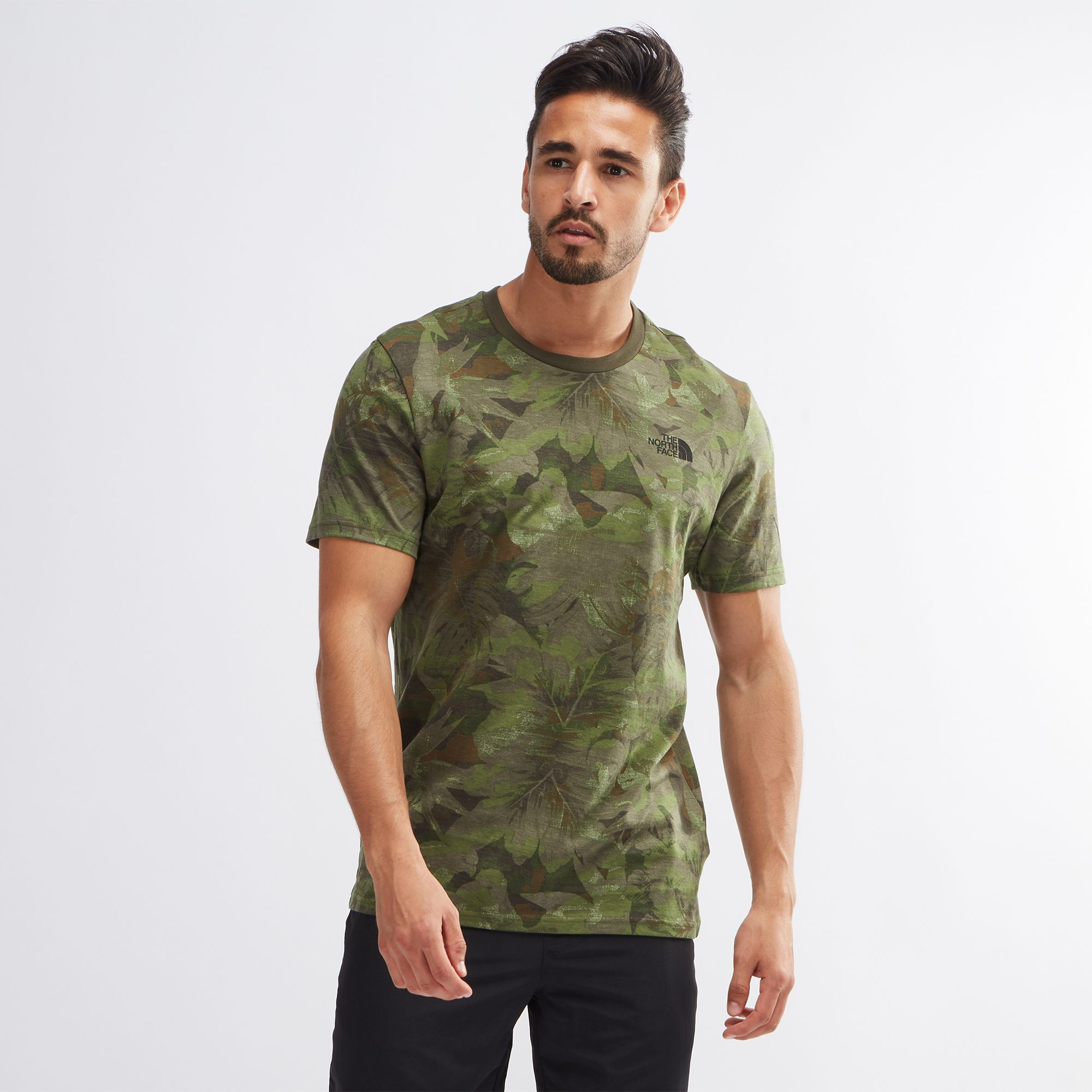 db879caa4 Shop Green The North Face Simple Dome T-Shirt for Mens by The North ...