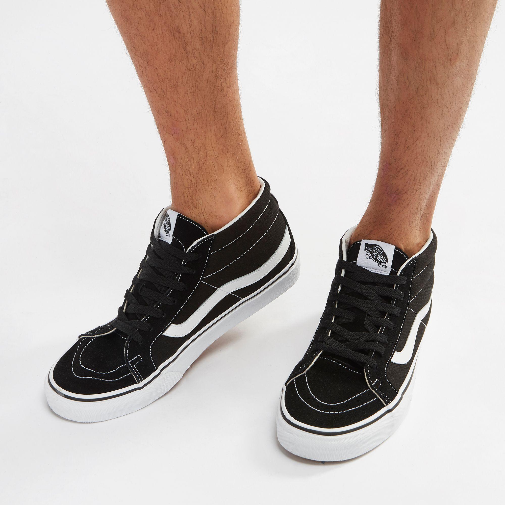 513f5b8eaf Shop Black Vans Sk8-Mid Reissue Shoe for Mens by Vans