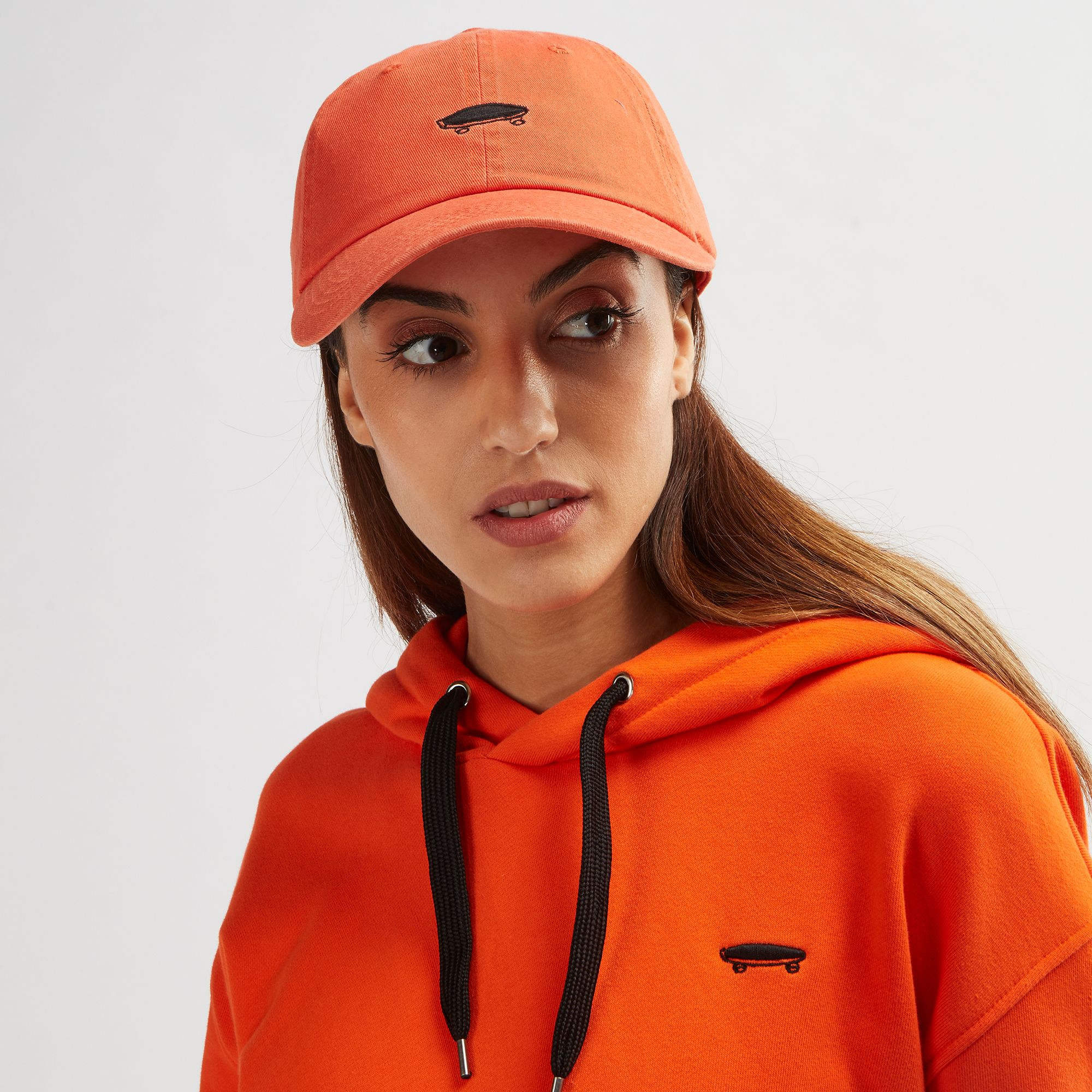 Shop Red Vans Court Side Hat for Womens by Vans  e00a2829196