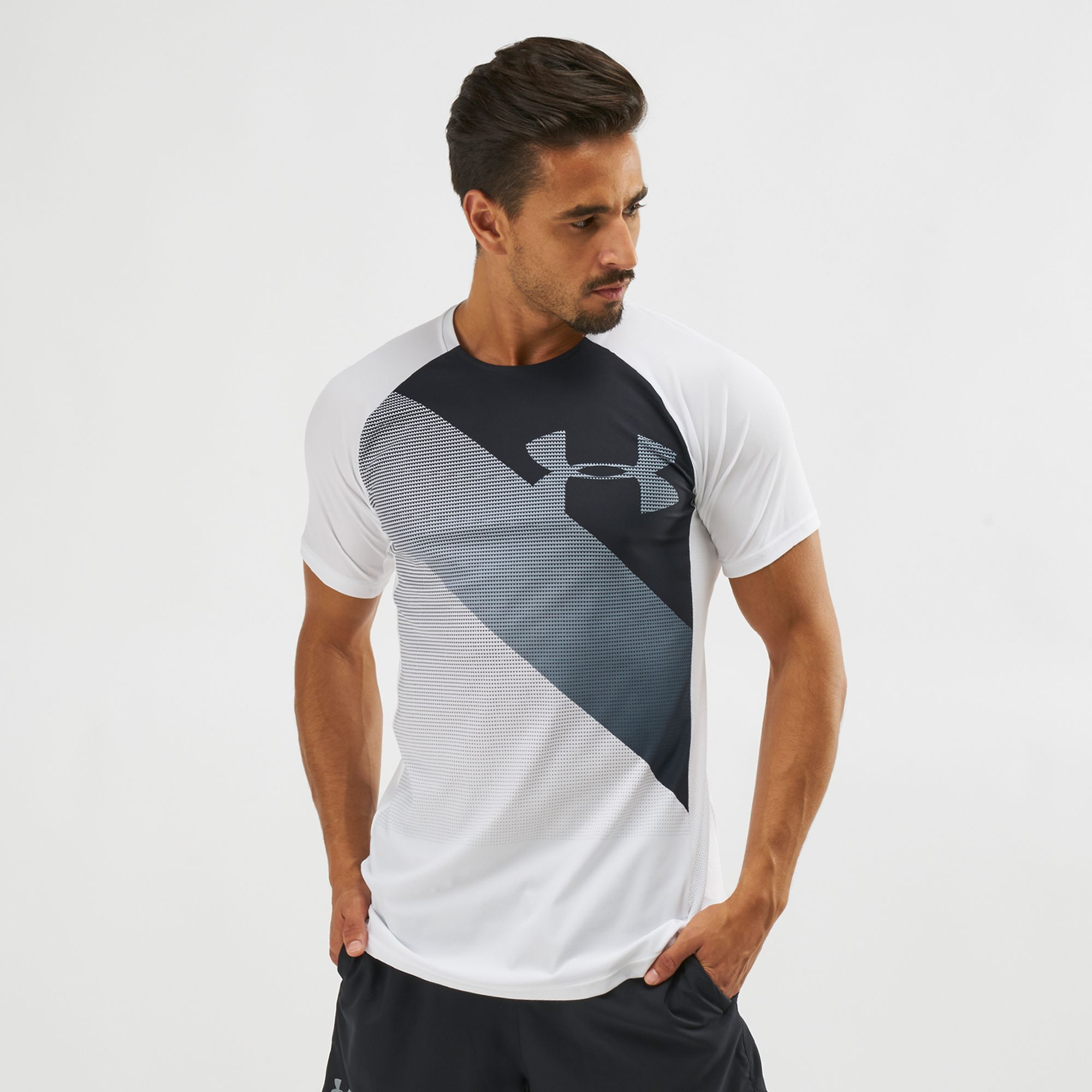 Shop White Under Armour Vanish T-Shirt  2b6248da4d