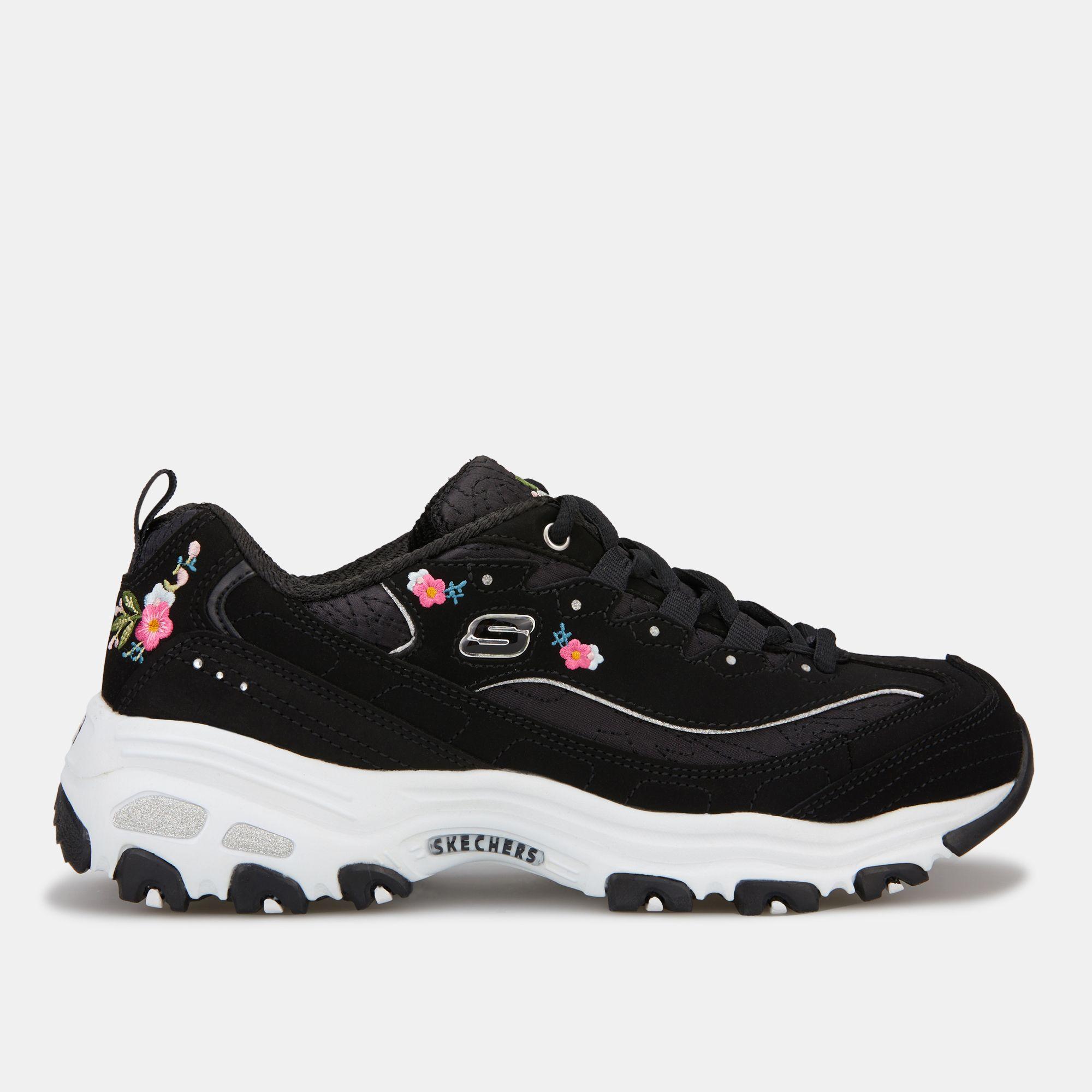 156db7de010 Skechers Women's D'Lites Bright Blossoms Shoe