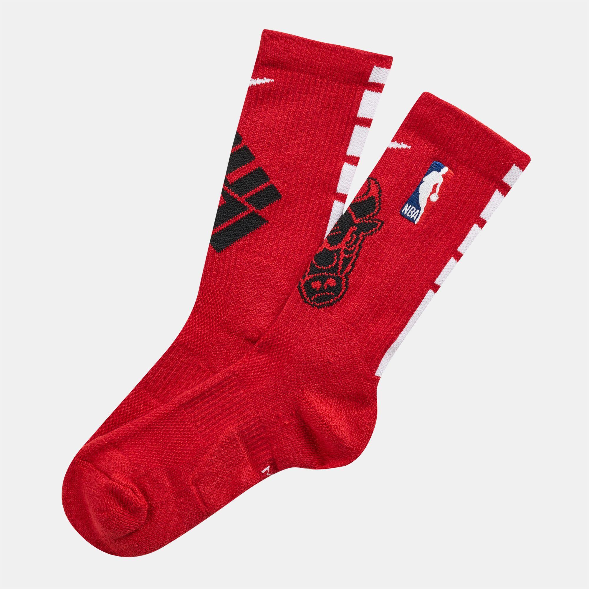 Nike NBA Chicago Bulls Elite Crew Socks | Crew Socks | Socks ...