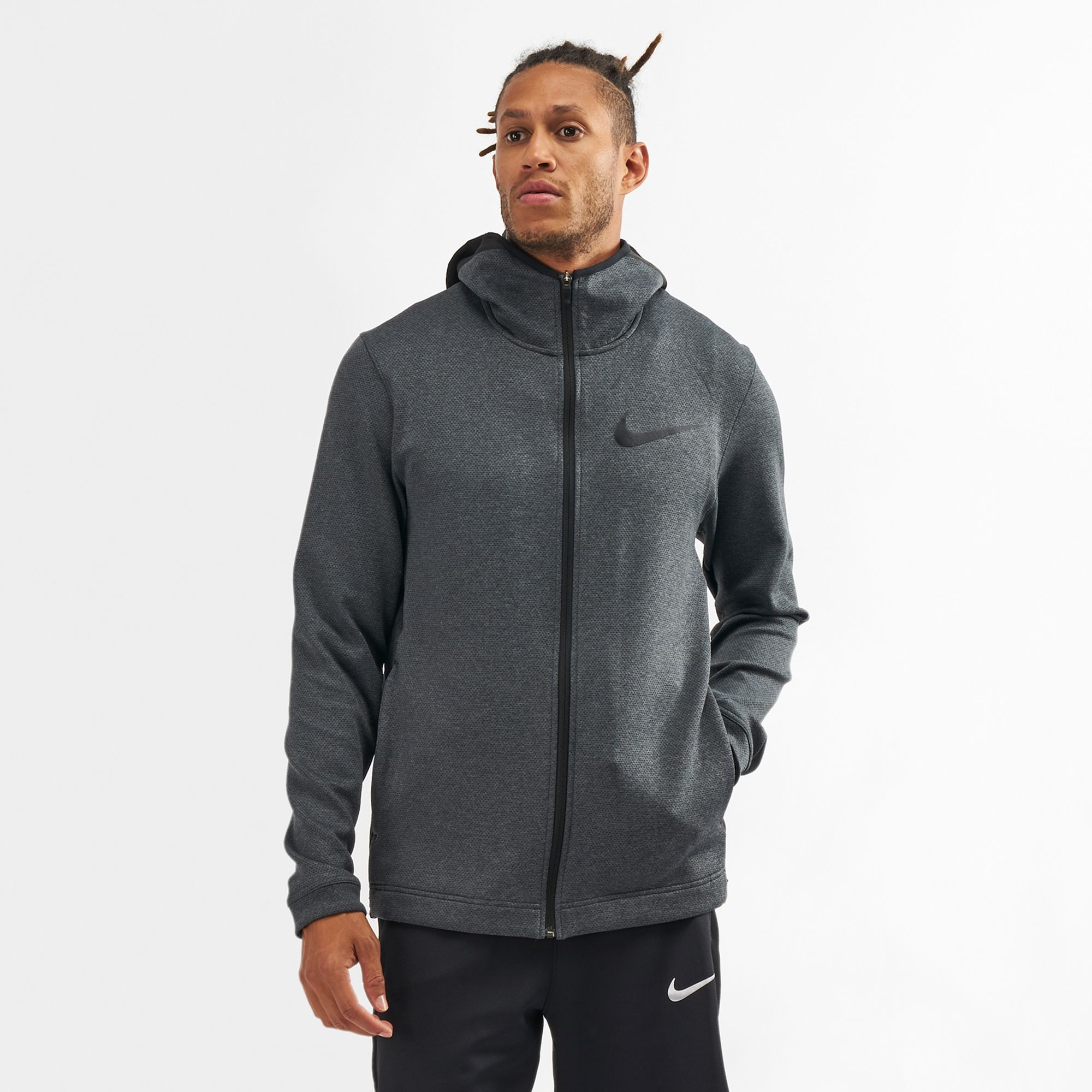 d303741e966 Nike Therma Flex Showtime Full-Zip Basketball Hoodie