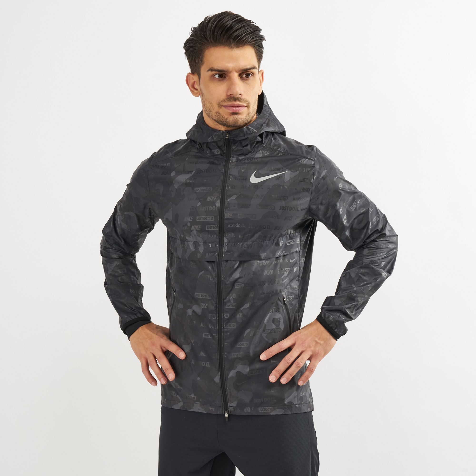 Nike Shield Ghost Flash Running Jacket  be641b35e