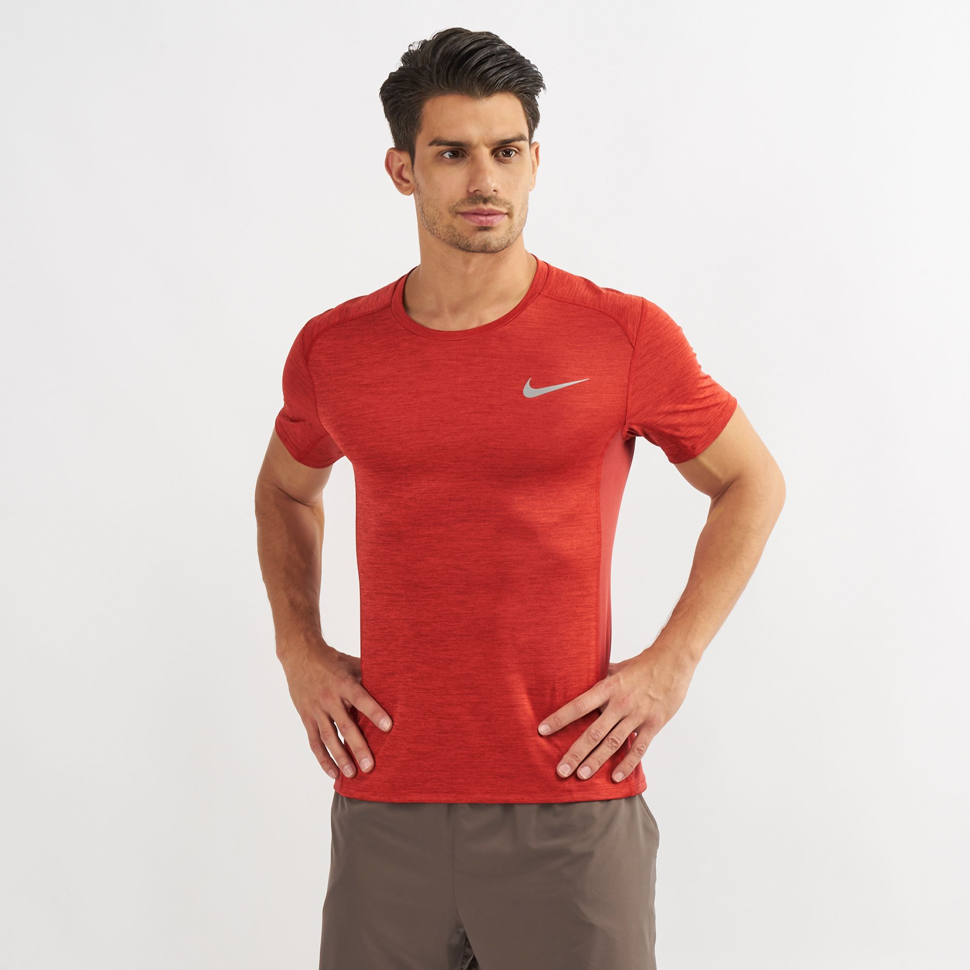 021669c17b1e3 Nike Dri-FIT Miler T-Shirt | T-Shirts | Tops | Clothing | Mens | SSS