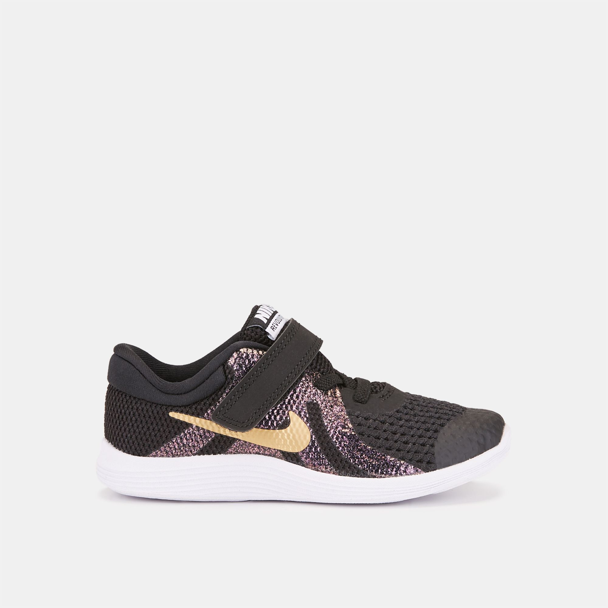 dfb0a374d4 Nike Kids' Revolution 4 Shine Shoe (Toddlers, 0-3 years) | Sneakers | Shoes  | Sports Fashion | Sports | SSS