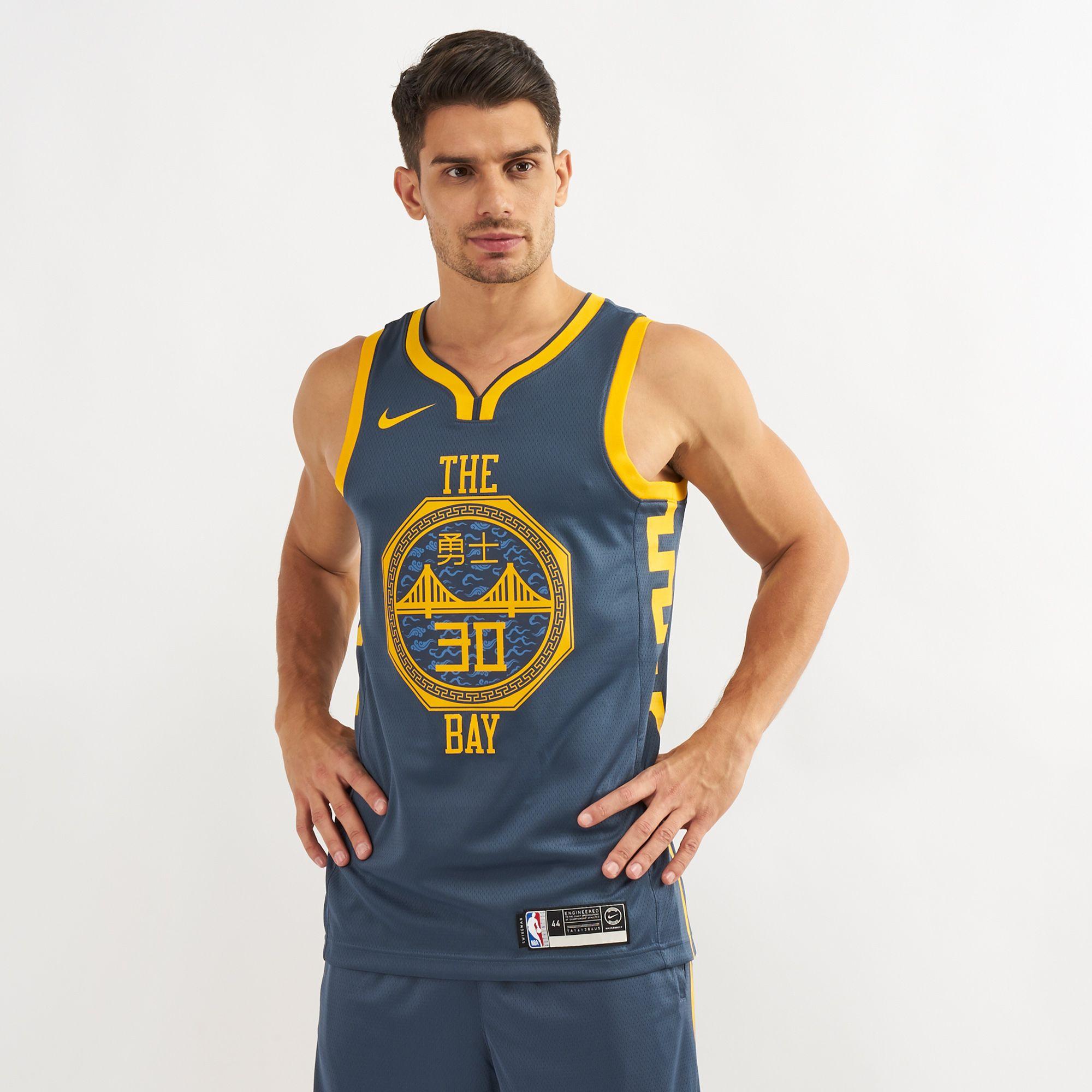 detailed look b4839 dc98f Nike NBA Golden State Warriors Swingman City Edition Jersey ...