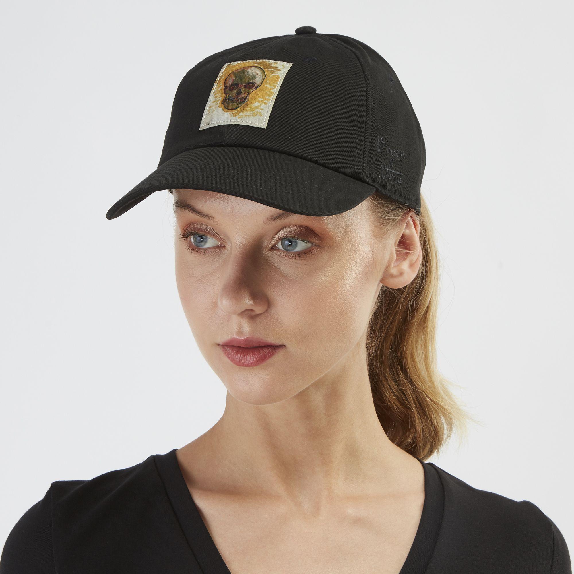 Vans X Van Gogh Museum Skull Cap Caps Caps Hats Accessories Womens Sss