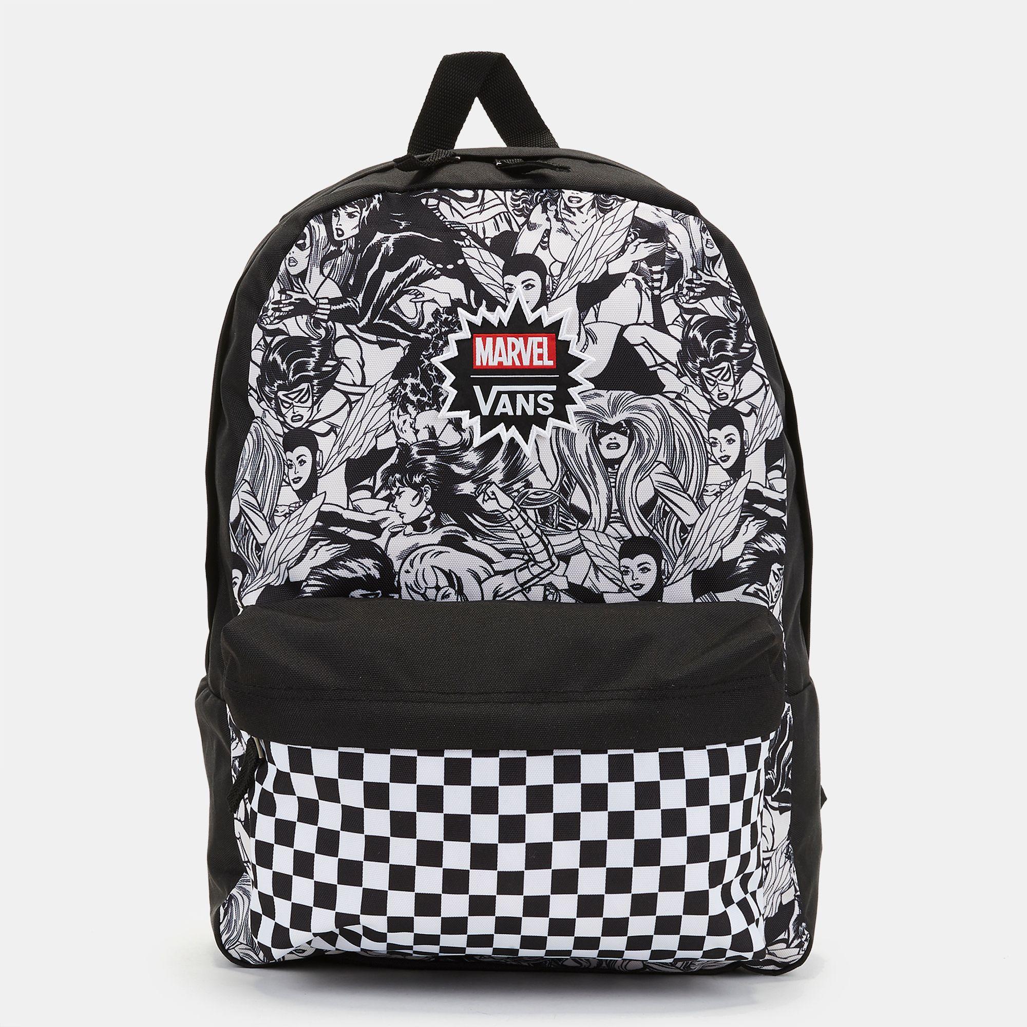 Vans x Marvel Women Realm Backpack - Black 9586066b9dfce