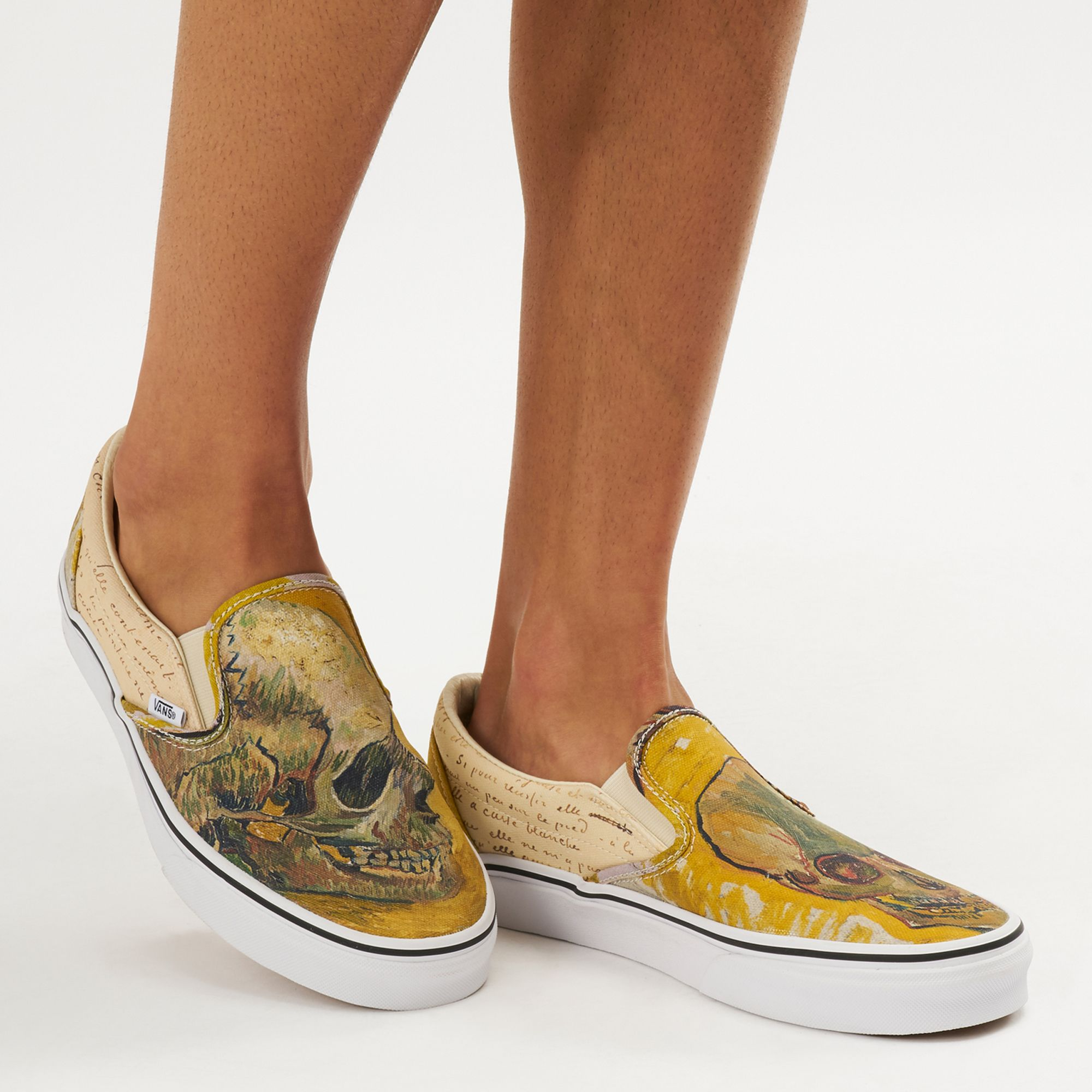 5bcab58d04 Vans x Van Gogh Museum Skull Classic Slip-On Shoe