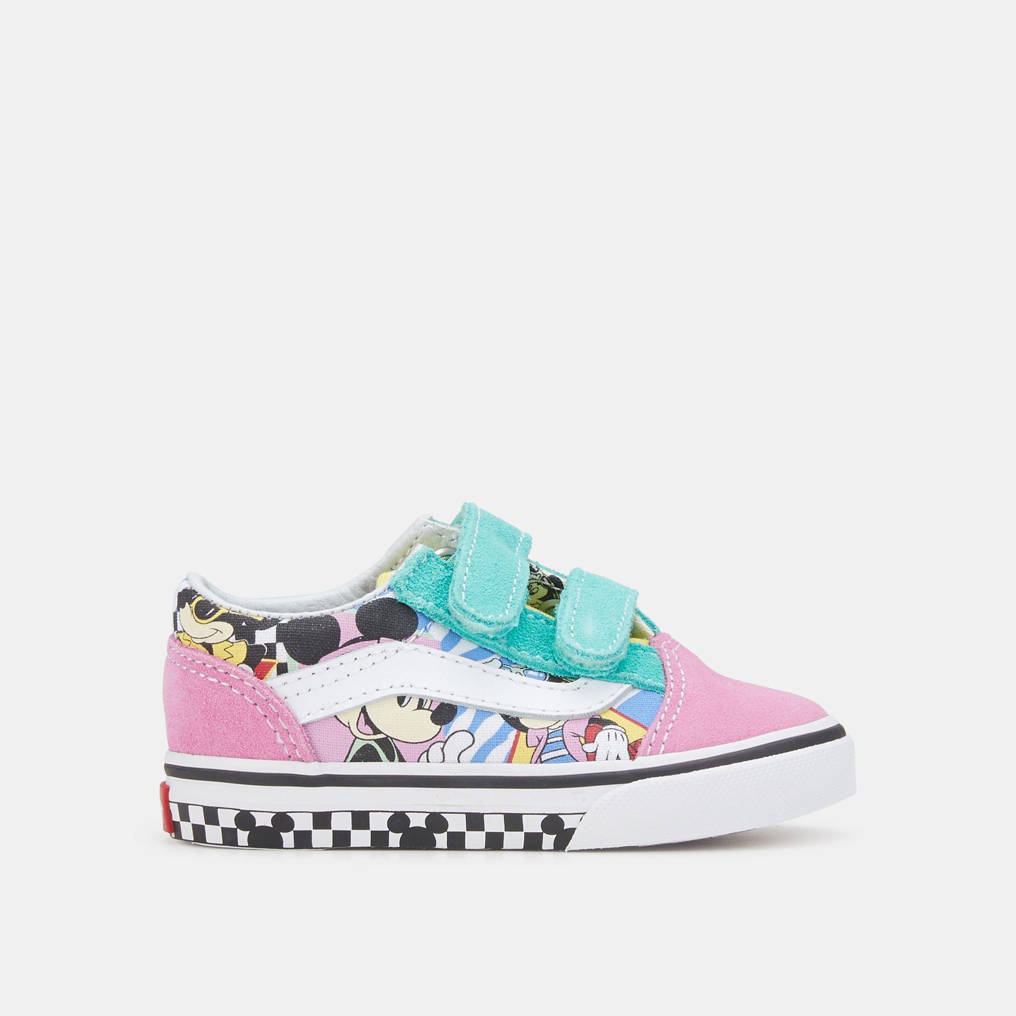 7145507b505 Vans Kids  x Disney Mickey Mouse Old Skool V Shoe