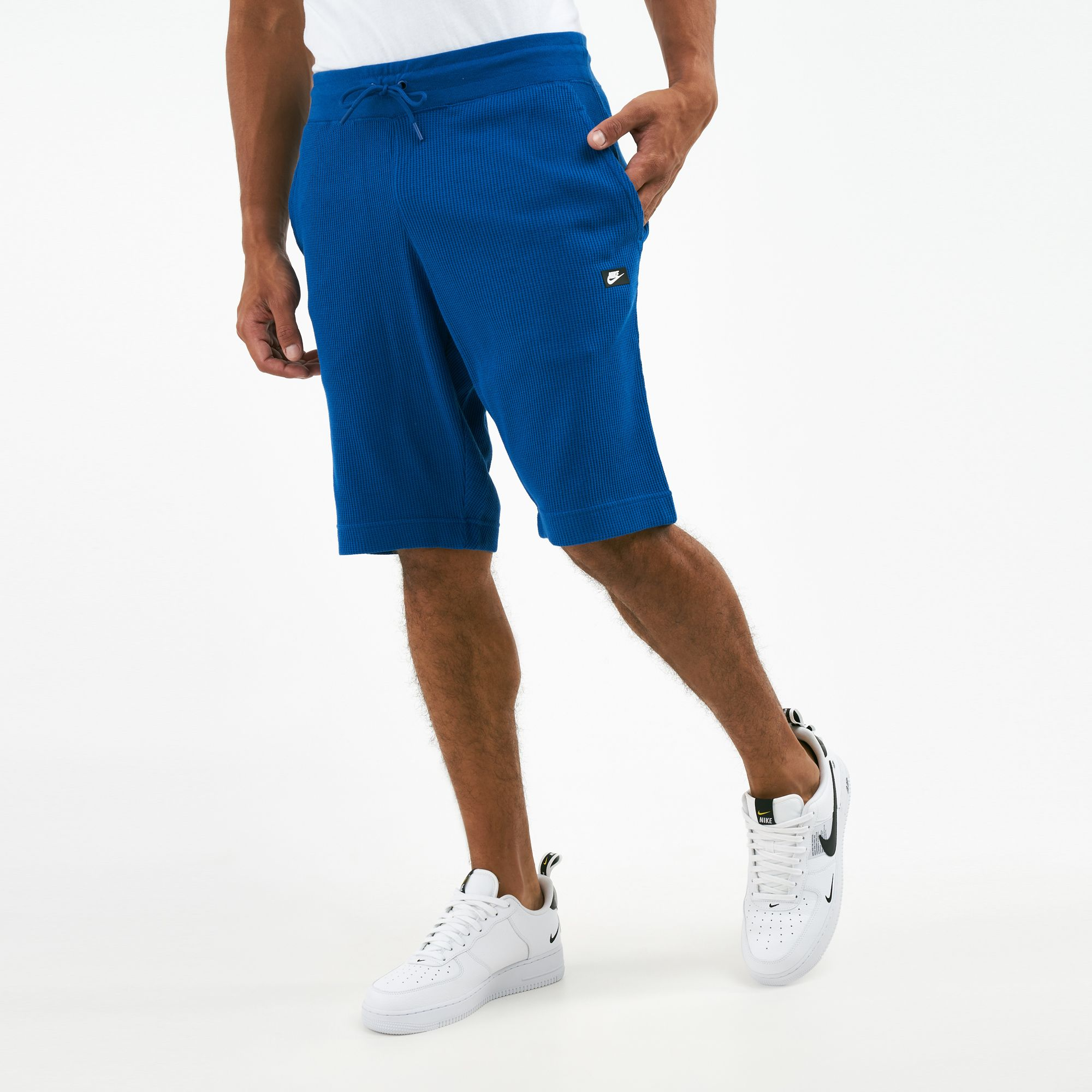 Nike Men S Ribbed Waffle Shorts Shorts Clothing Mens Sss