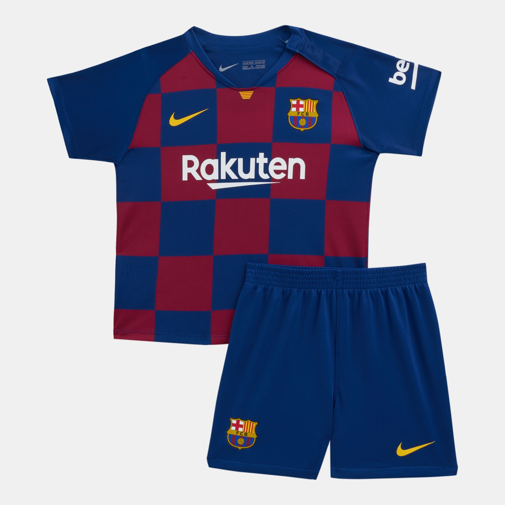 reputable site f2c01 449bc Nike Kids' FC Barcelona Home Kit (Baby and Toddler)