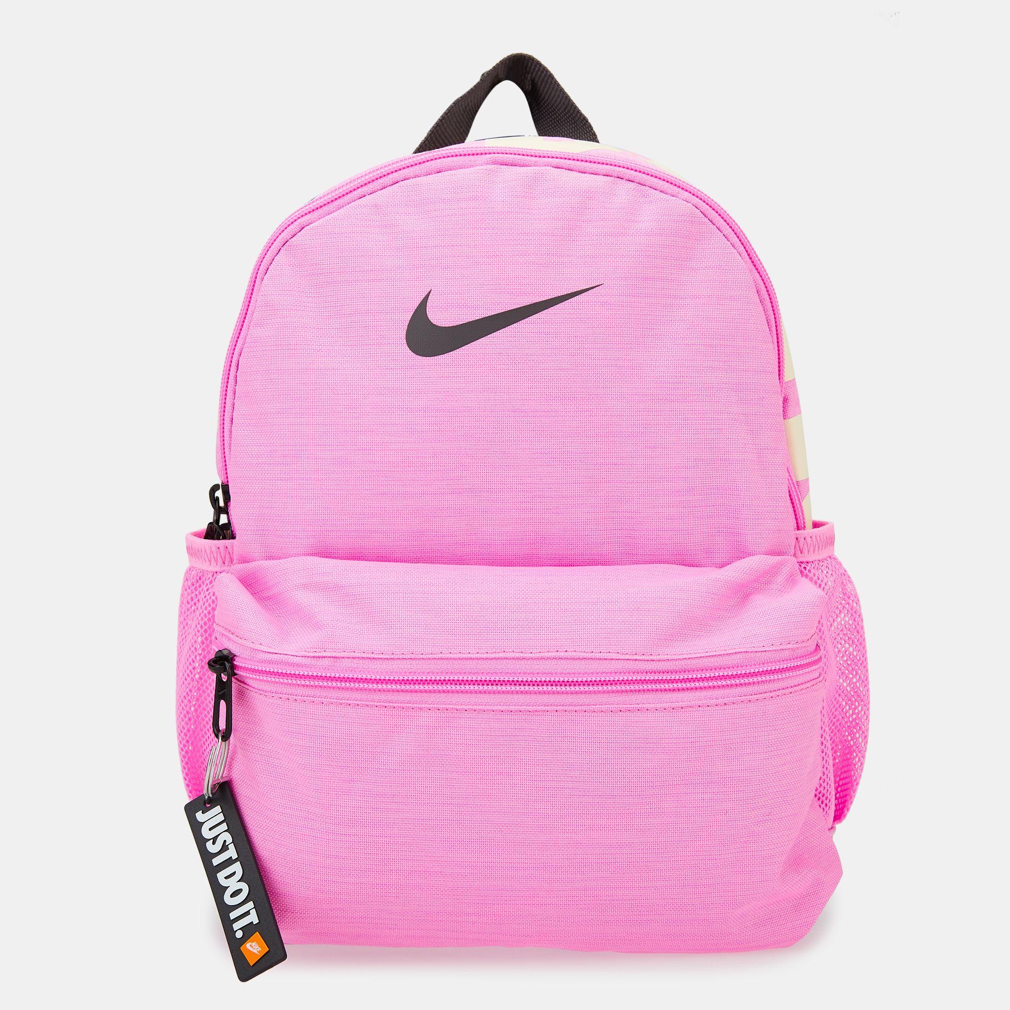 a1e6300b2b09e Nike Kids  Brasilia Just Do It Mini Backpack (Older Kids) - Pink