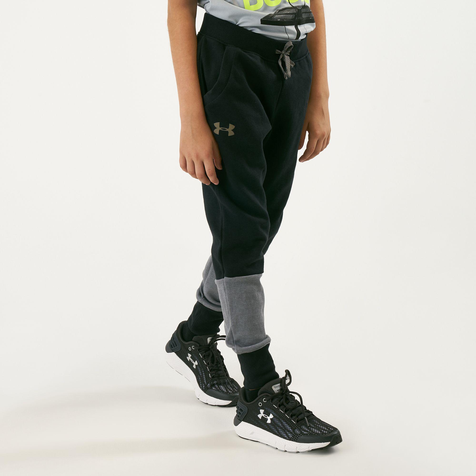 86a646d030f6f5 Under Armour Kids' Unstoppable Double Knit Jogger Pants | Pants ...