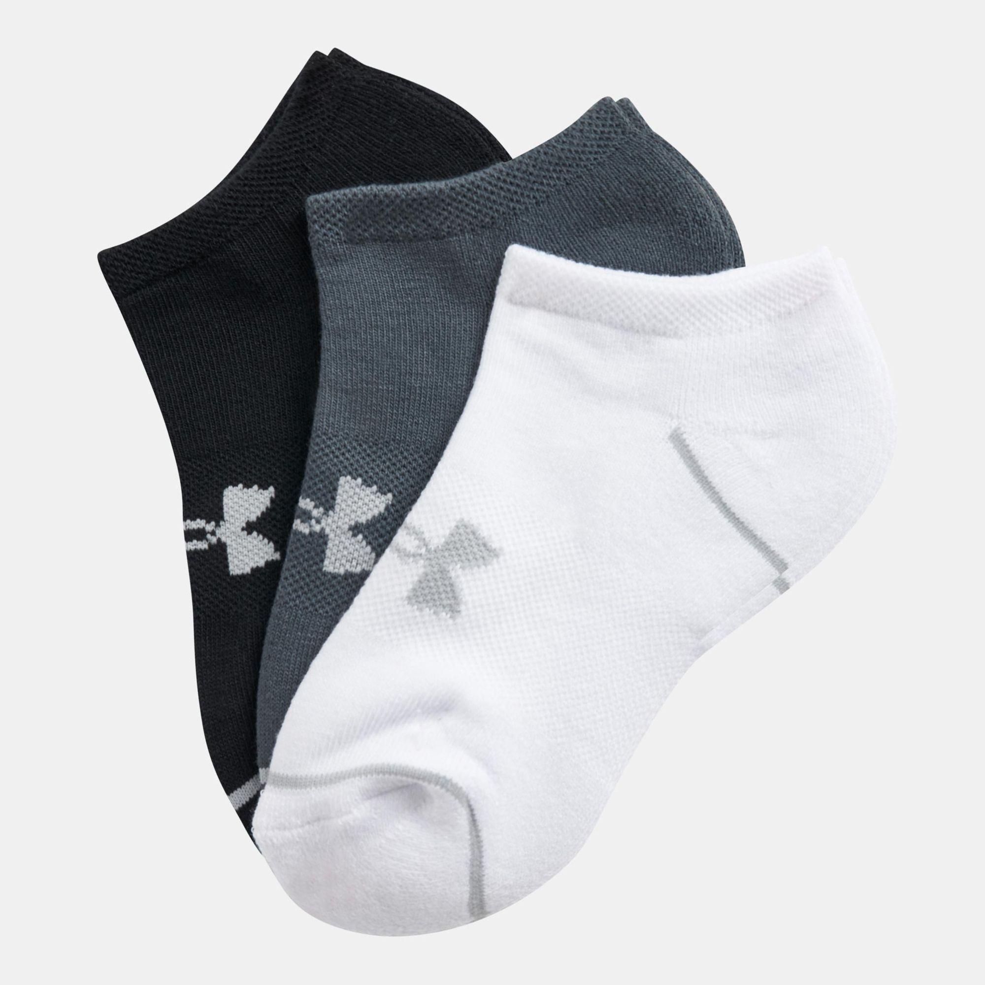 Under Armour Phenom No Show Socks (3 Pairs)