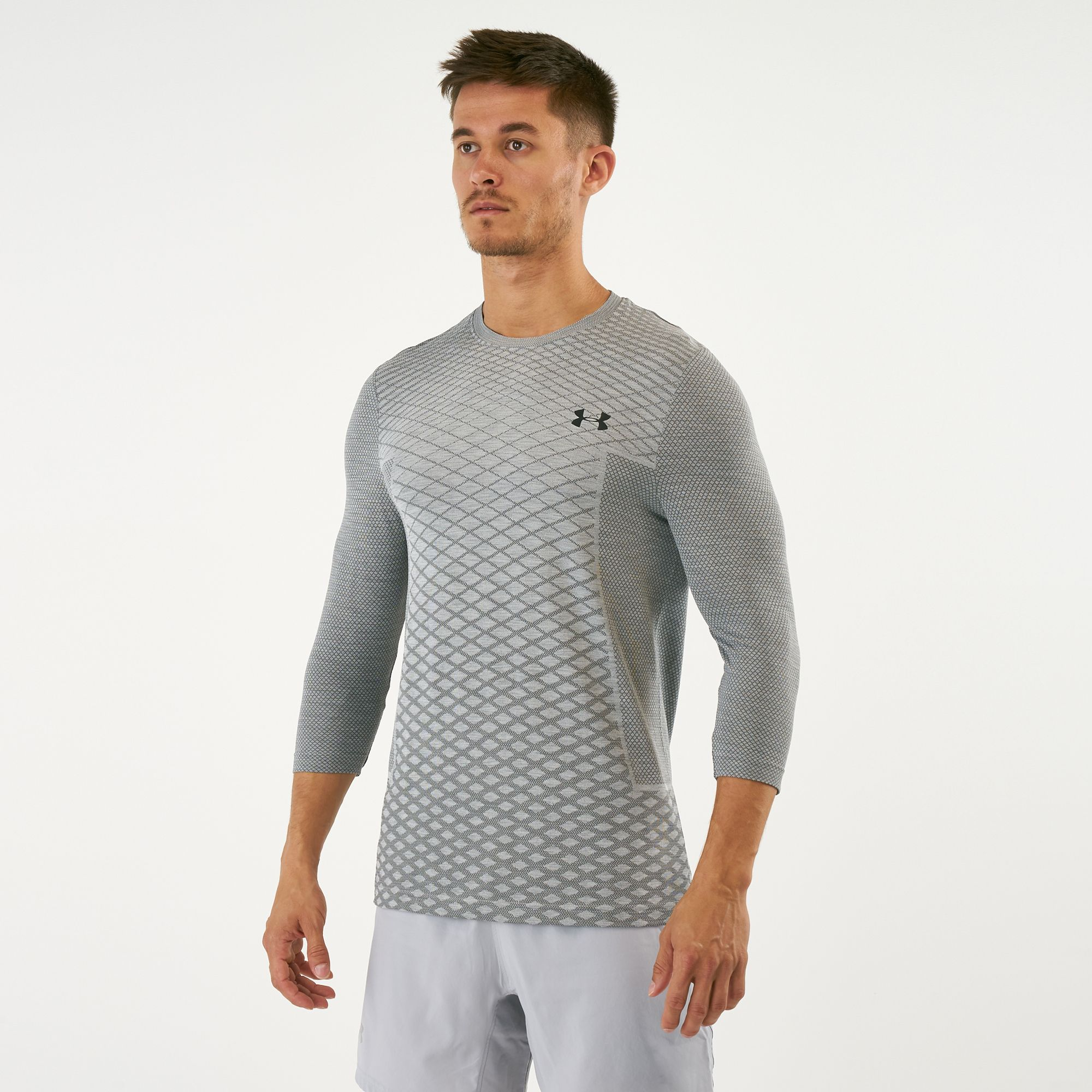 c44d5e52a Under Armour Men's Vanish Seamless 3/4 Sleeved T-Shirt | T-Shirts ...