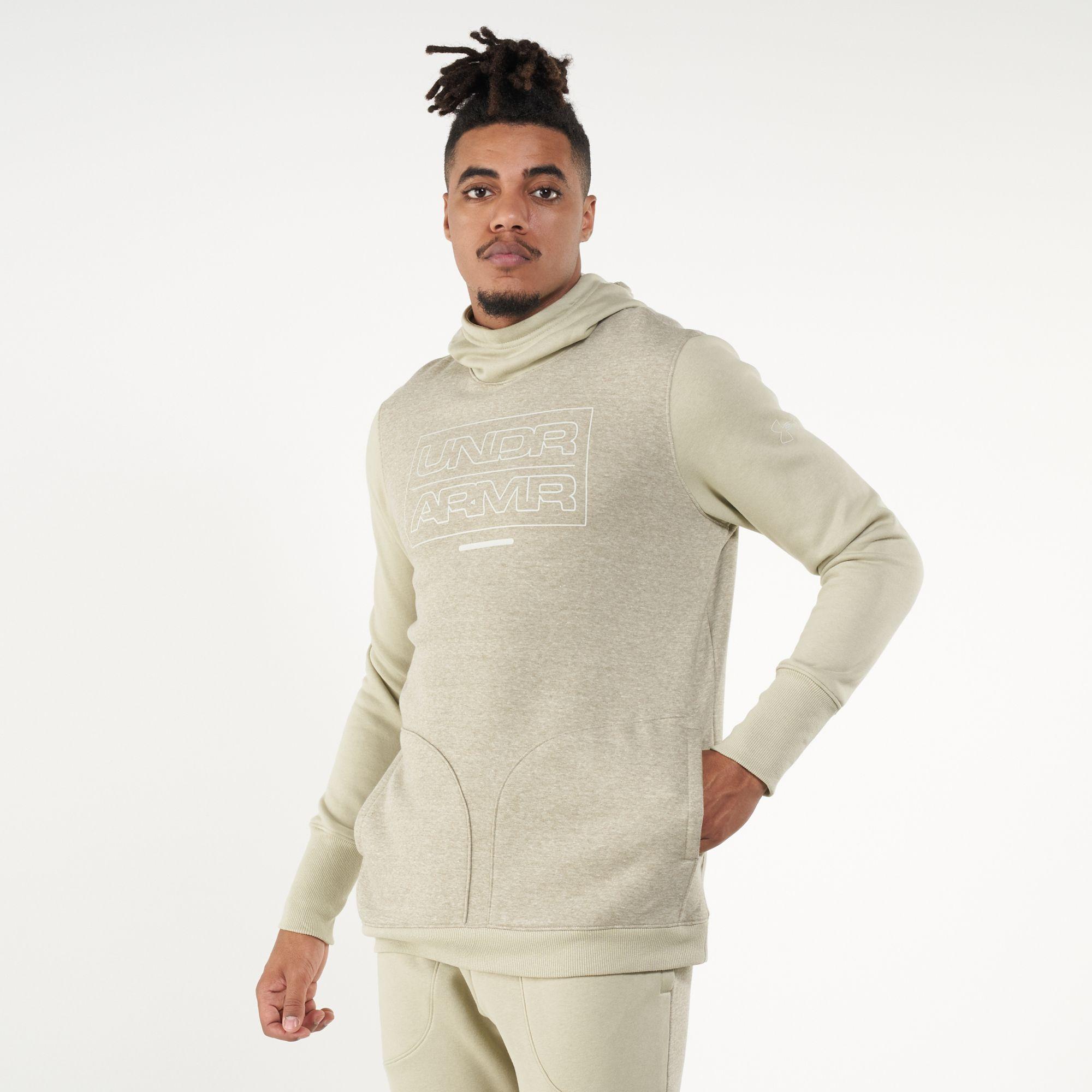 Under Armour Men's Baseline Fleece Pullover Hoodie