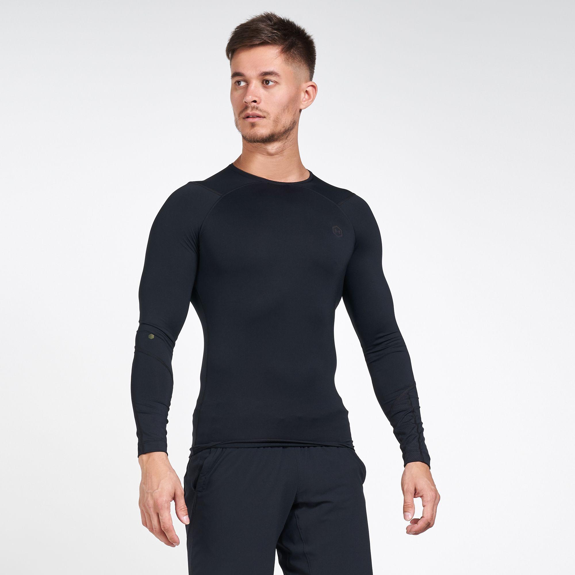 Under Armour Men's RUSH™ HeatGear® Compression Long Sleeves T-Shirt
