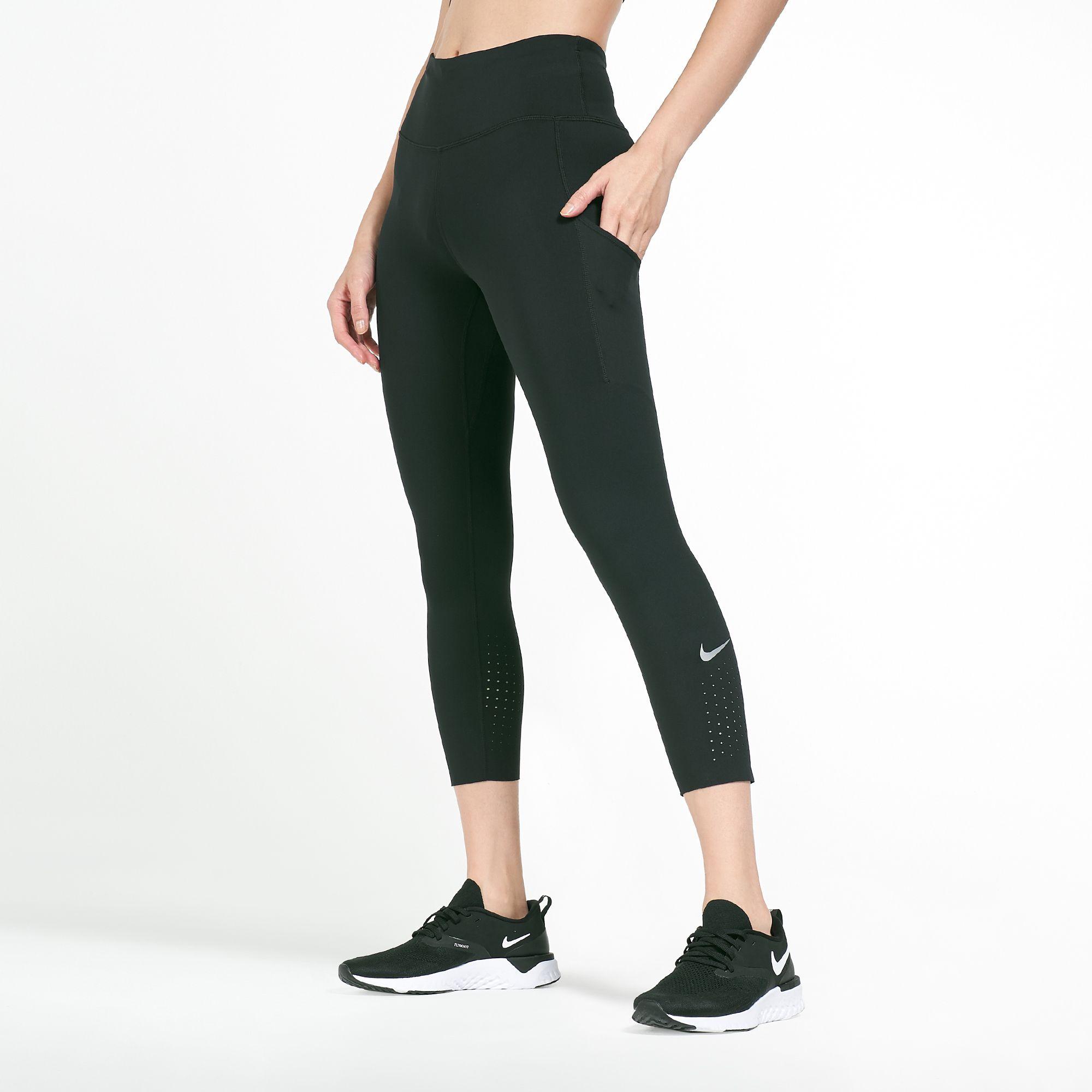 Nike Women S Epic Lux Crop Leggings Full Length Leggings Leggings Clothing Womens Sss