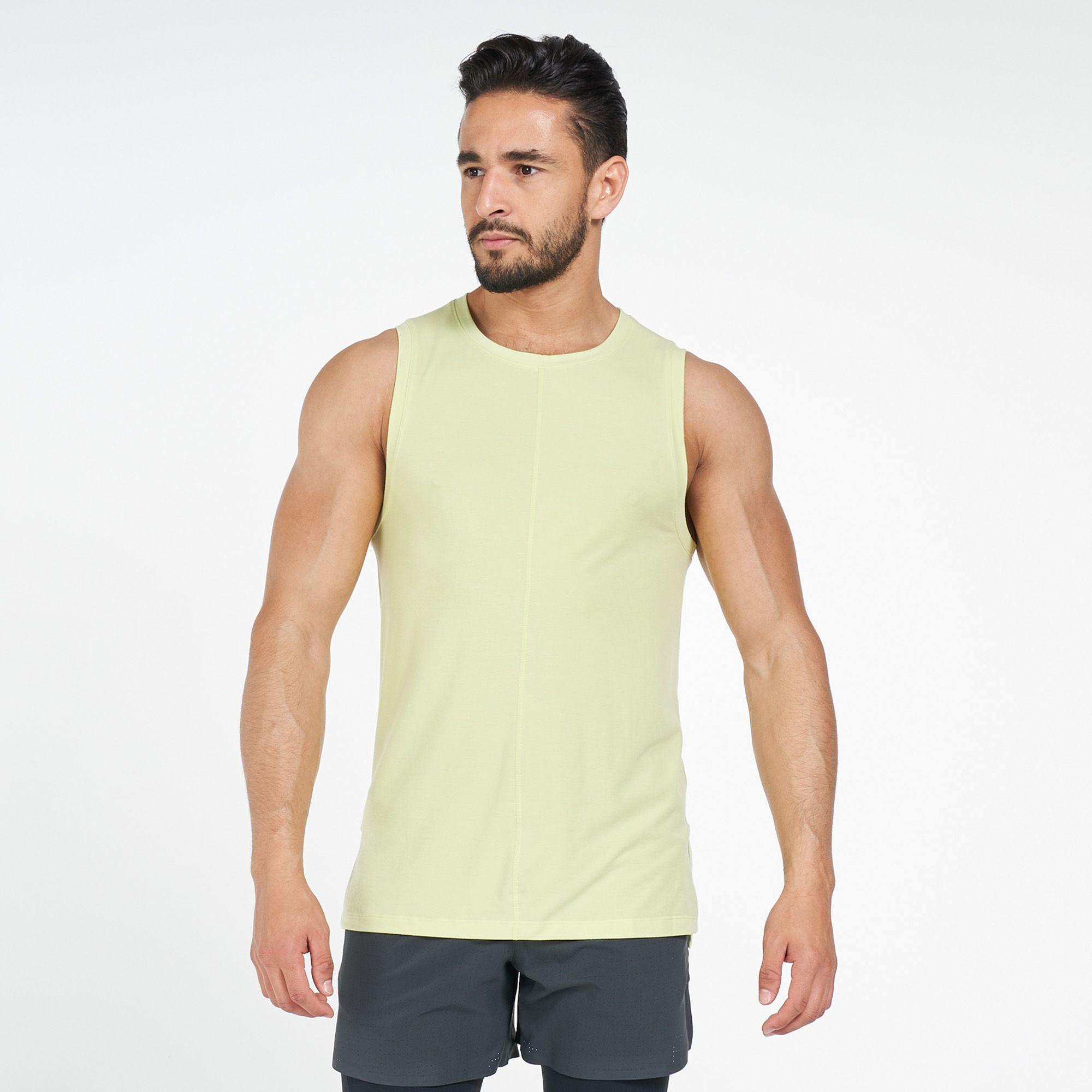 Nike Men S Dri Fit Yoga Tank Top Tank Tops Tops Clothing Men S Sale Sale Sss