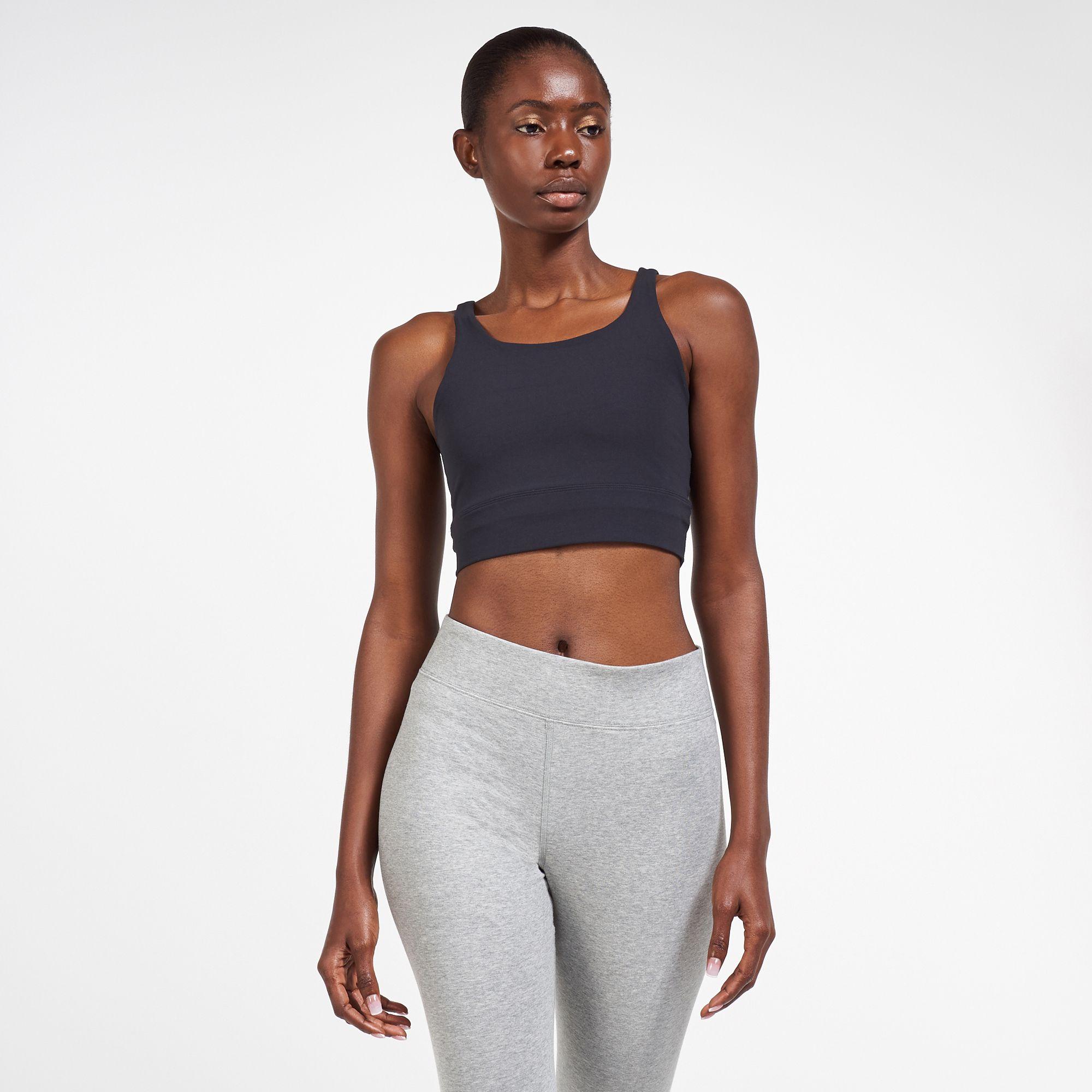 Nike Women S Yoga Luxe Infinalon Crop Top Tank Tops Tops Clothing Womens Sss