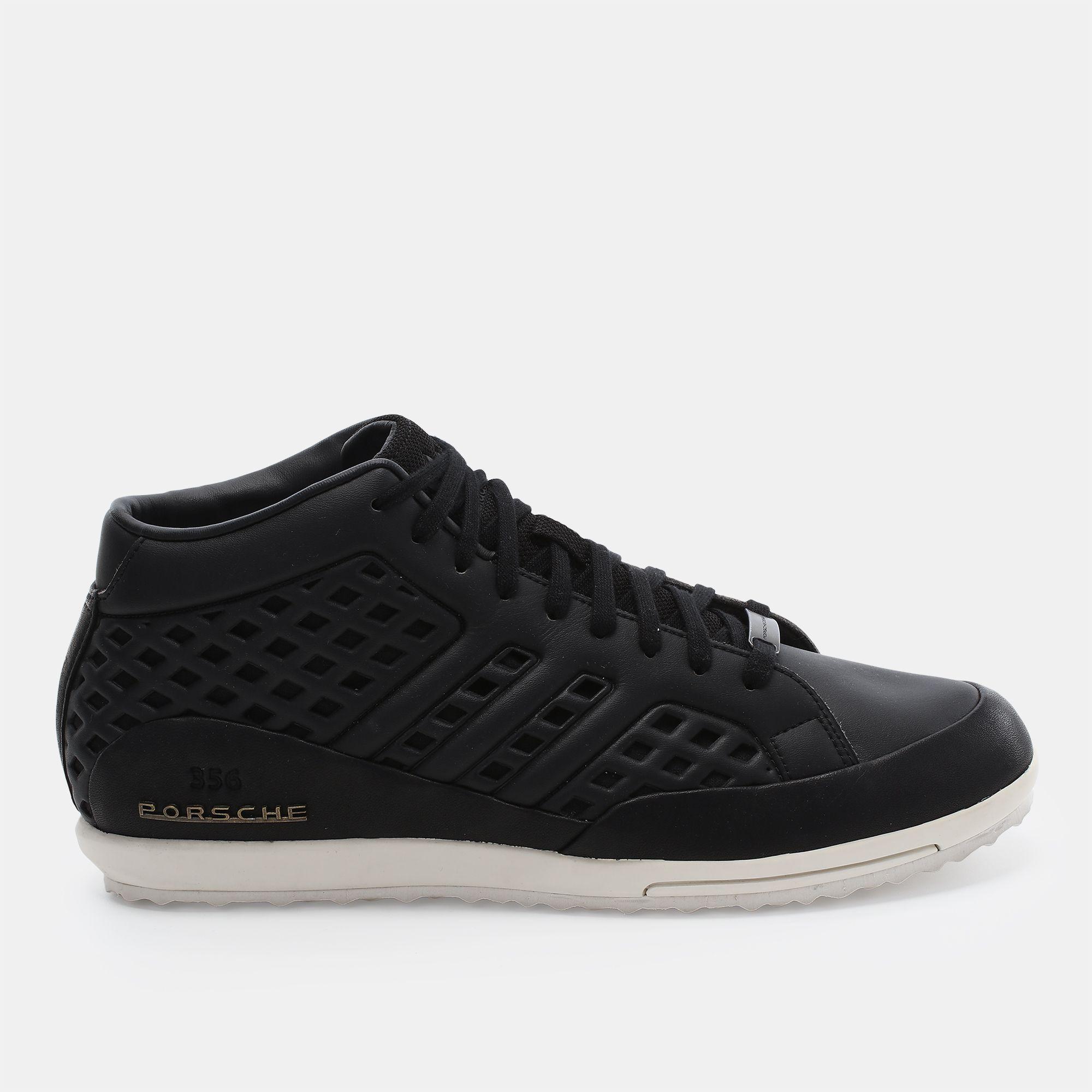 new arrival 8db76 b7d73 Shop Black adidas Porsche 356 Mid 1.3 Shoe for Mens by ...