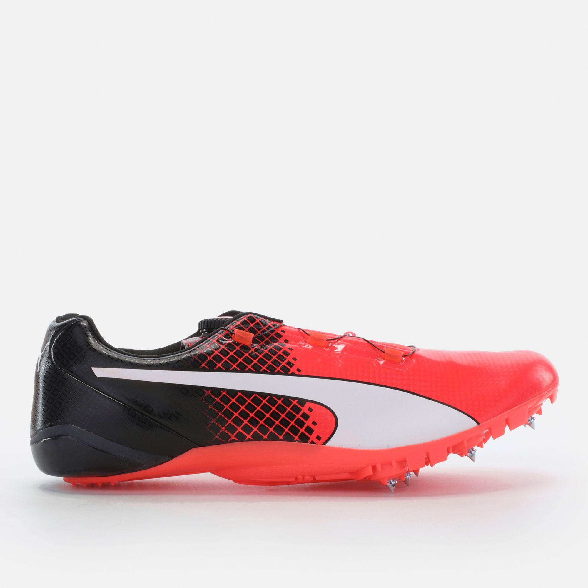 5c39a7cb2cc4 Shop Black PUMA evoSPEED Disc Sprint Spike Track Shoe for Mens by ...