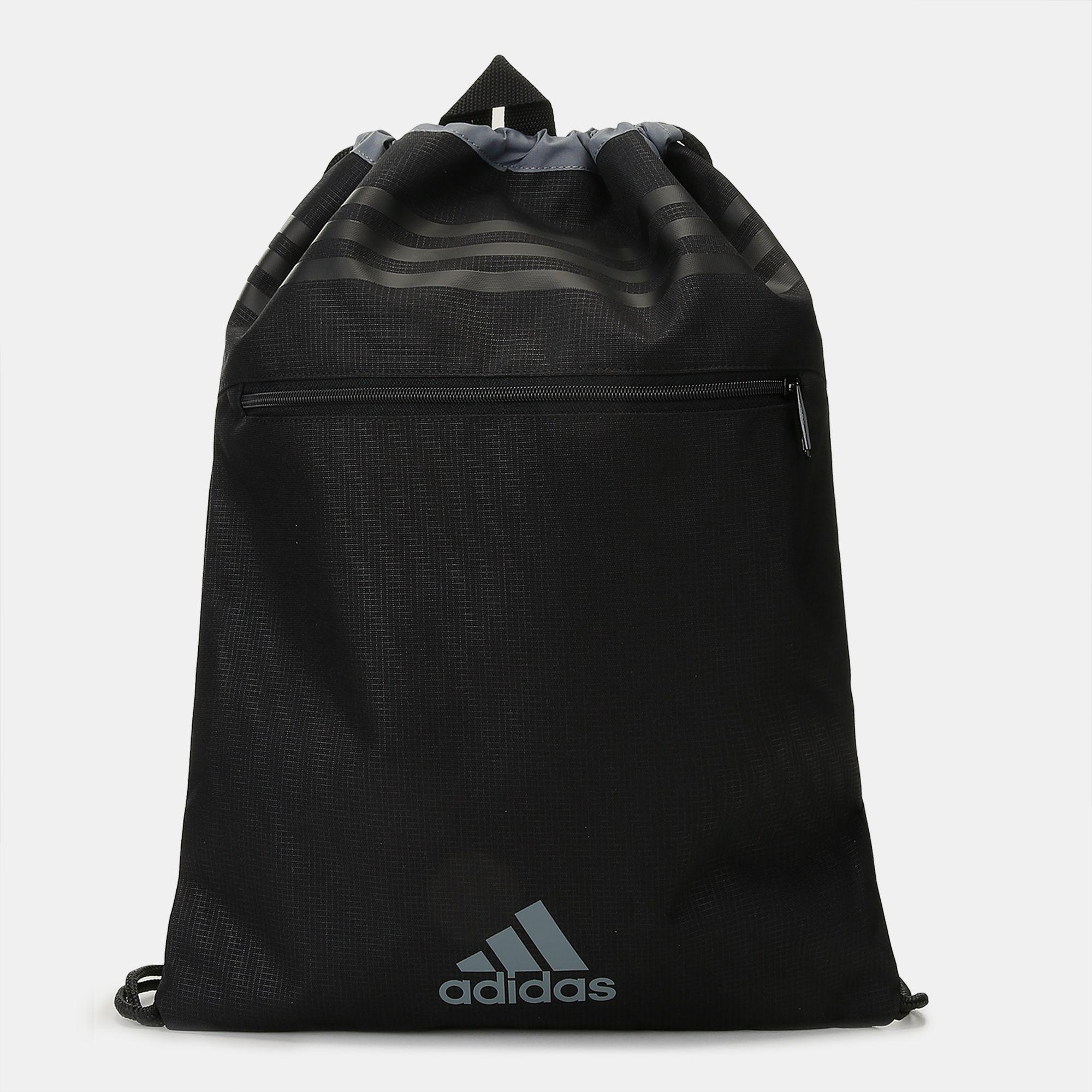 Shop Black adidas 3 Stripes Performance Gym Bag for Unisex by adidas ... 28cf8641e5c53