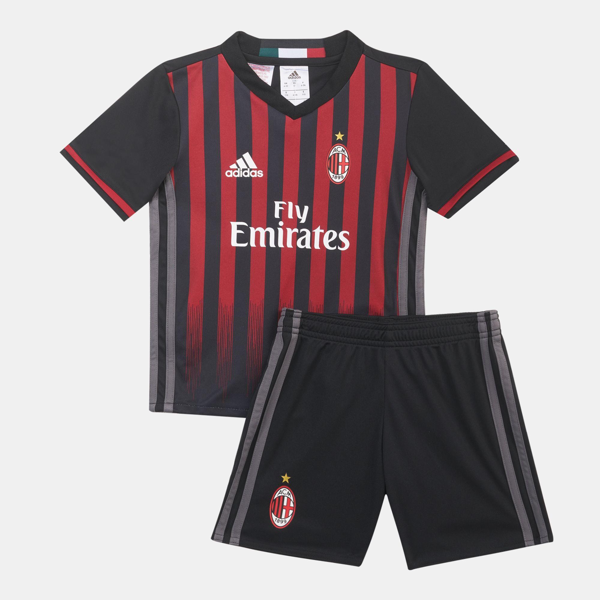 newest eaa7a a4e89 Shop Adidas Kids Ac Milan Home Mini Kit Adap Ai6898   Riyadh ...
