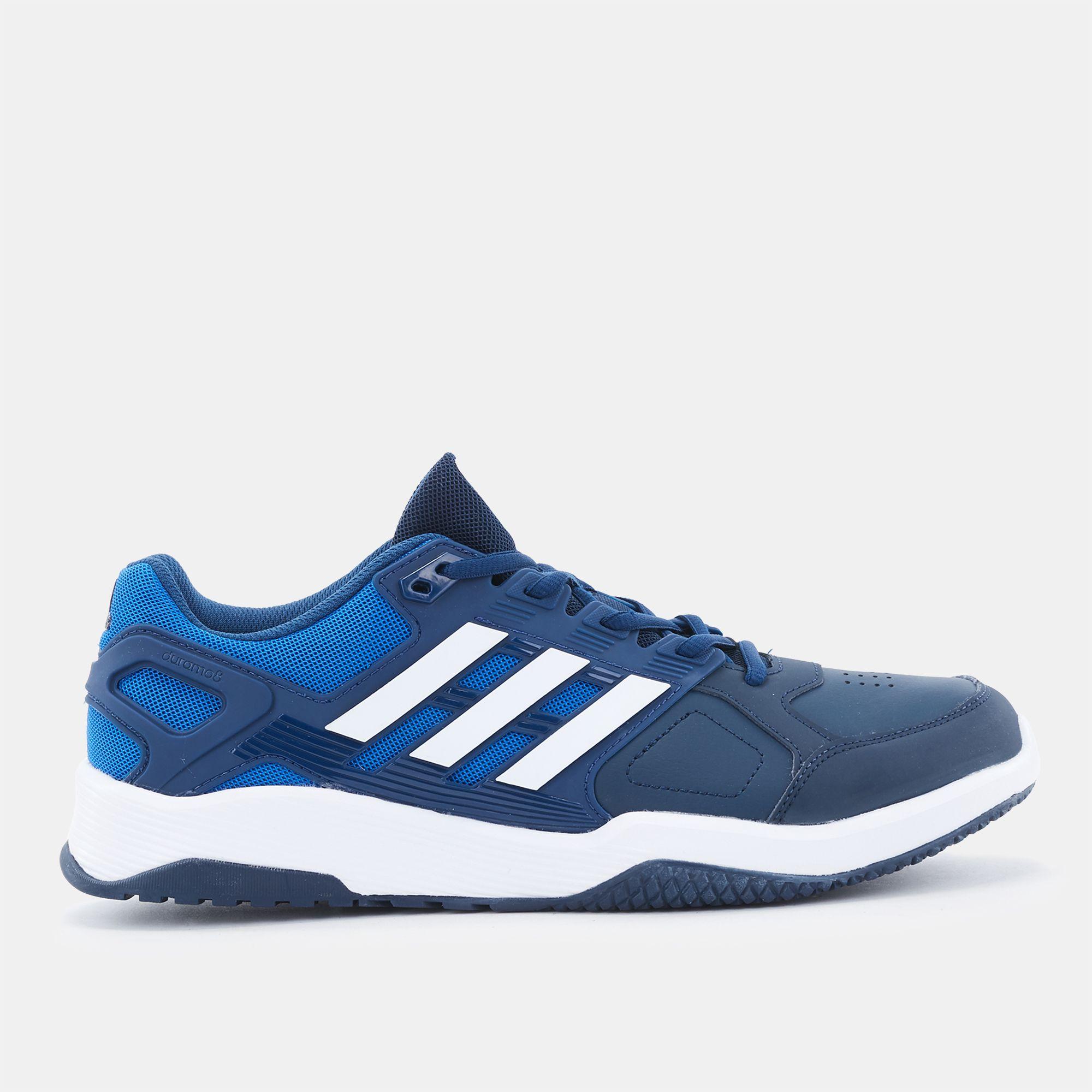 92cedf6a1 Shop Blue adidas Duramo 8 Trainer Shoe for Mens by adidas
