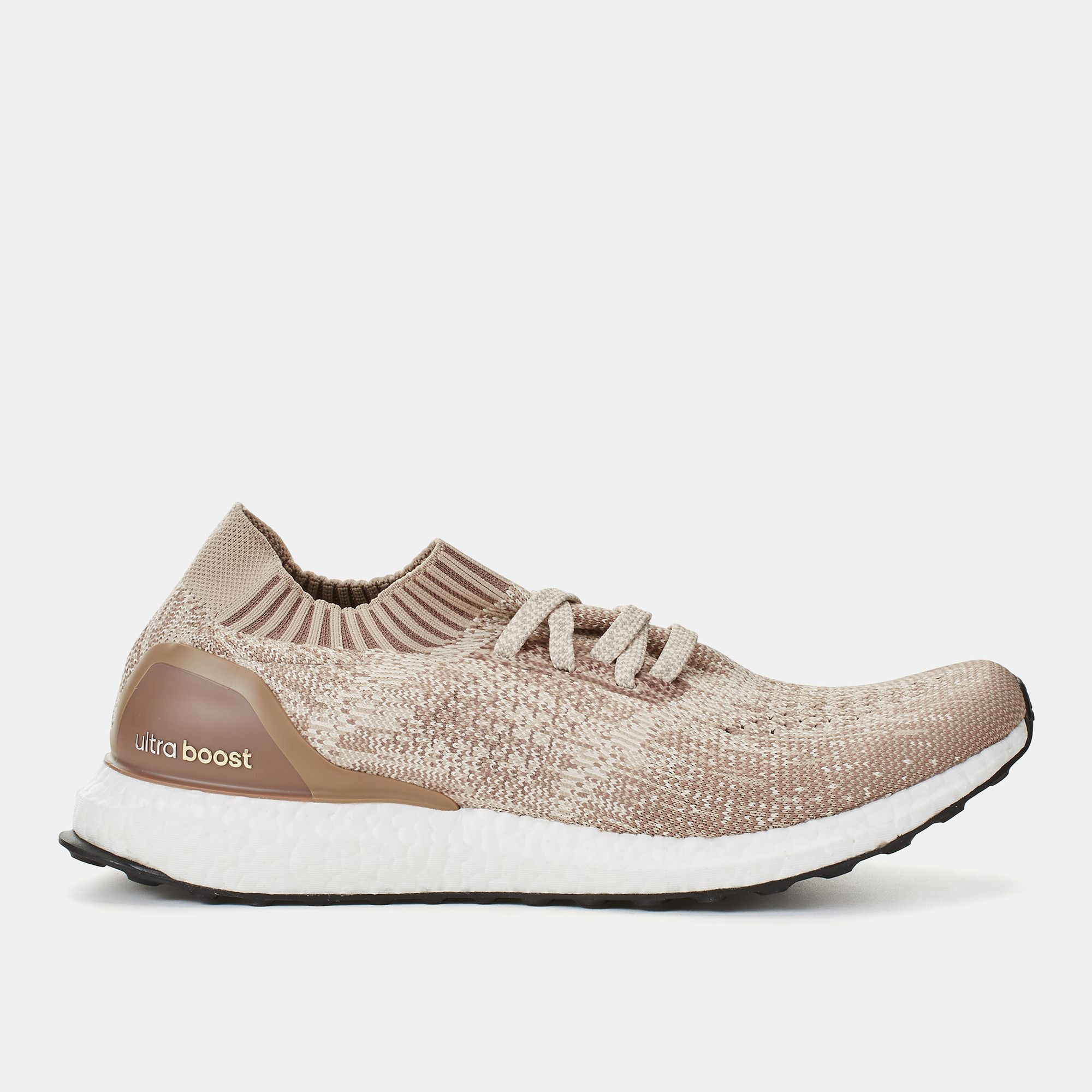 the best attitude e272e 4a91b Shop Brown adidas Ultraboost Uncaged Shoe for Mens by adidas   SSS