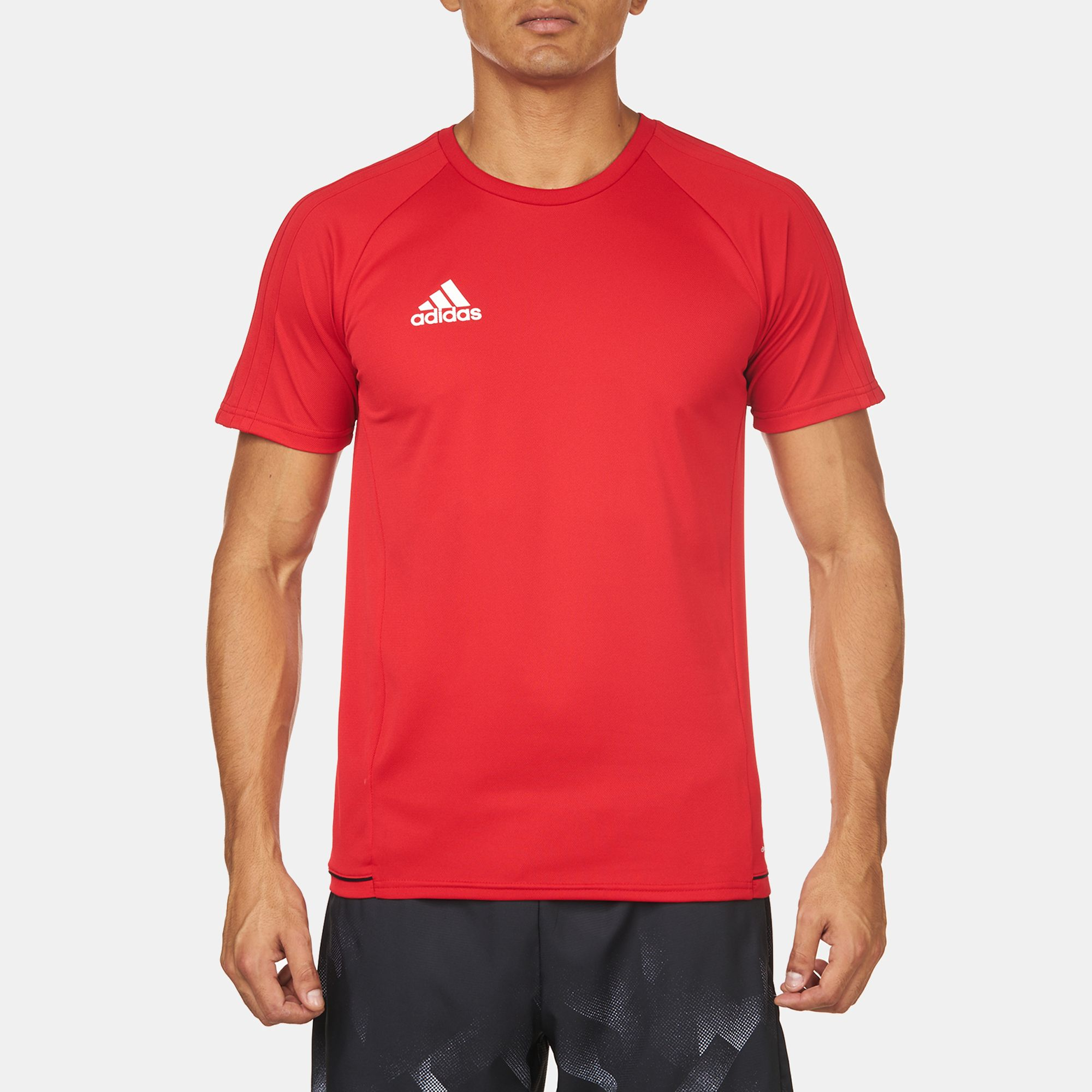 6085272e Shop Red adidas Training Tiro 17 T-Shirt for Mens by adidas | SSS